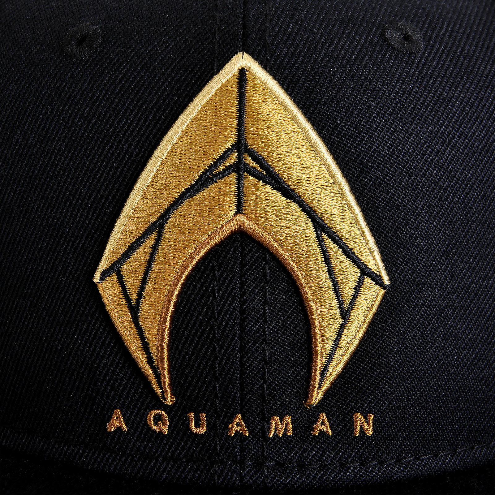 Aquaman Logo Snapback Cap - Justice League