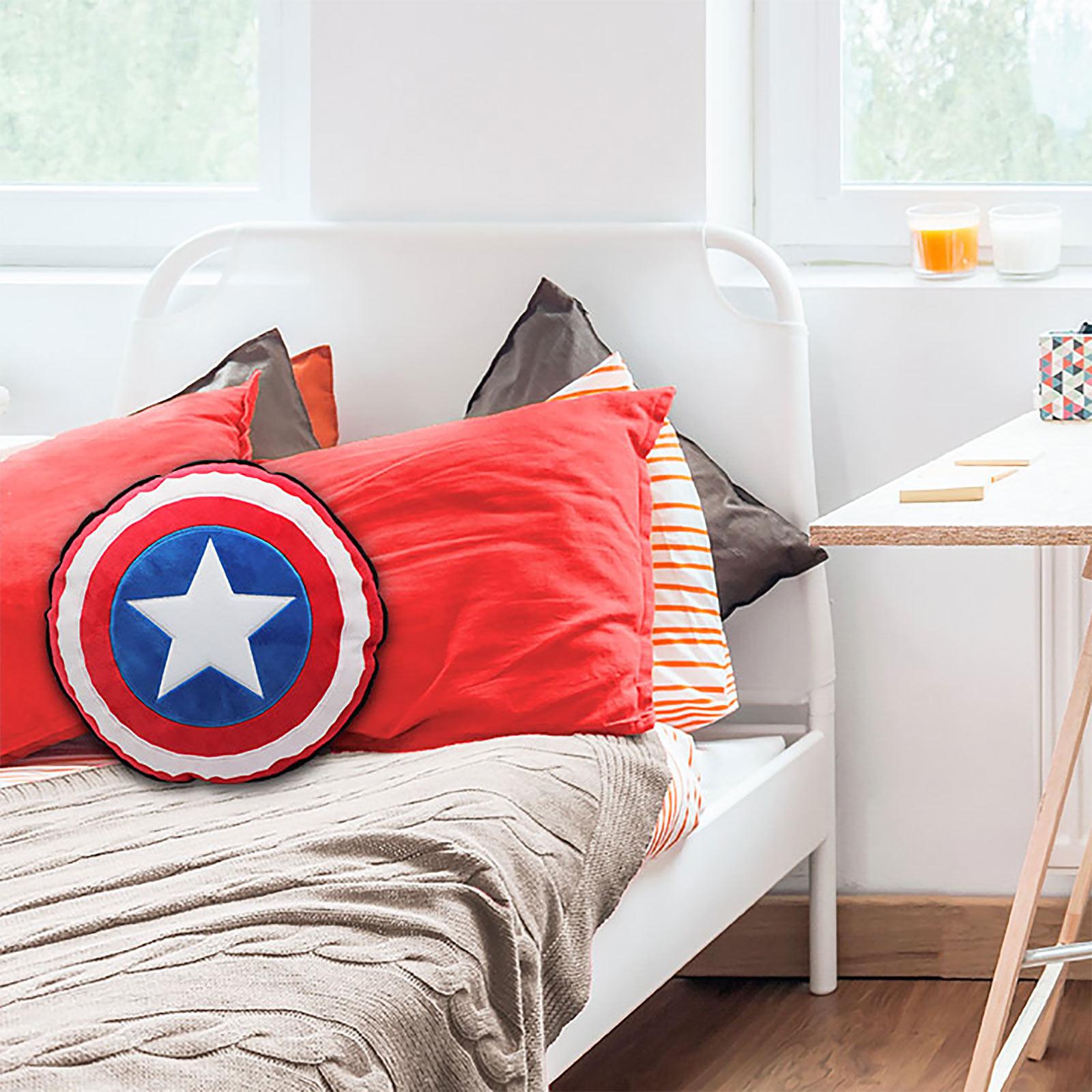 Captain America - Shield Kissen