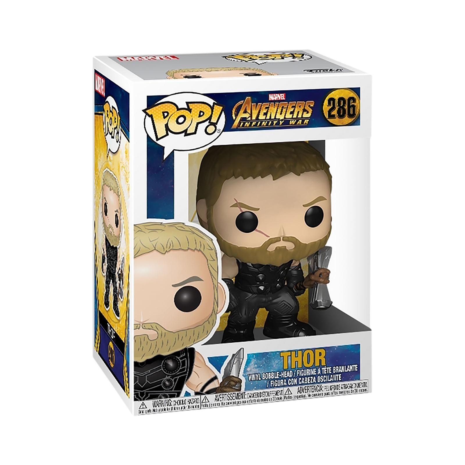Avengers - Thor Infinity War Funko Pop Wackelkopf-Figur