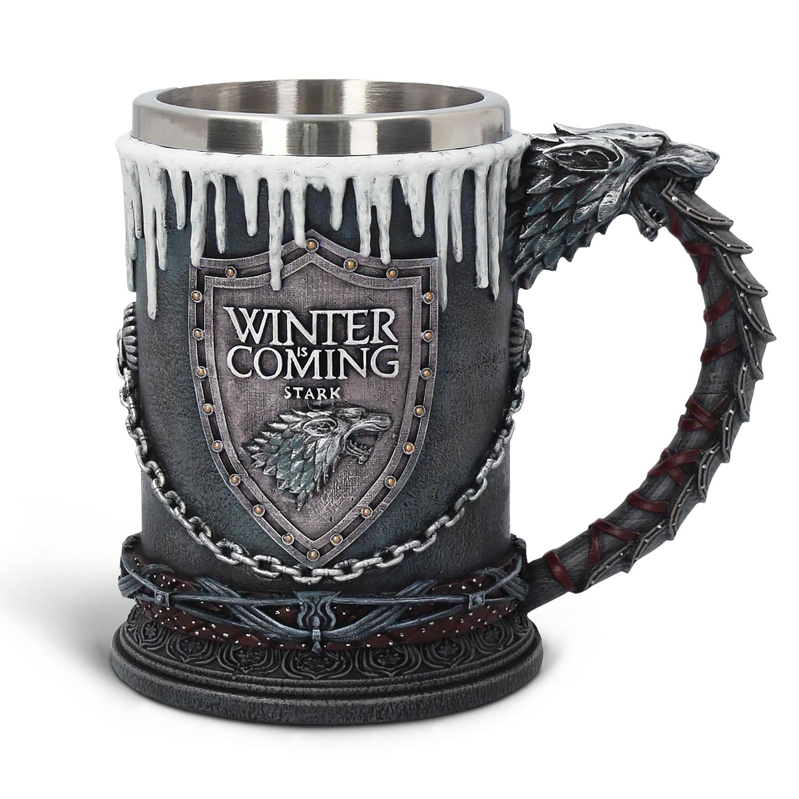 Game of Thrones - Stark Wappen Krug deluxe