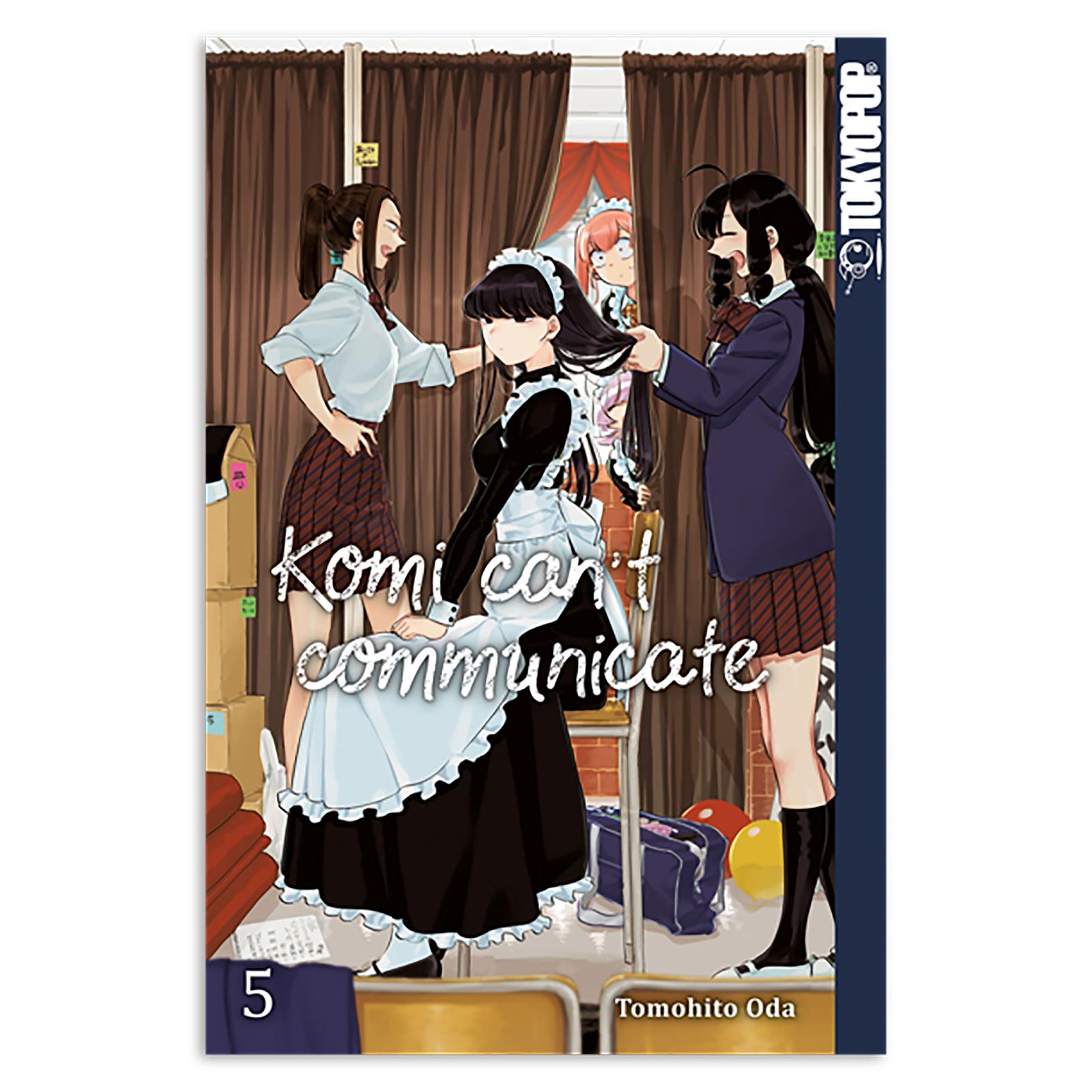 Komi can't communicate - Band 5 Taschenbuch