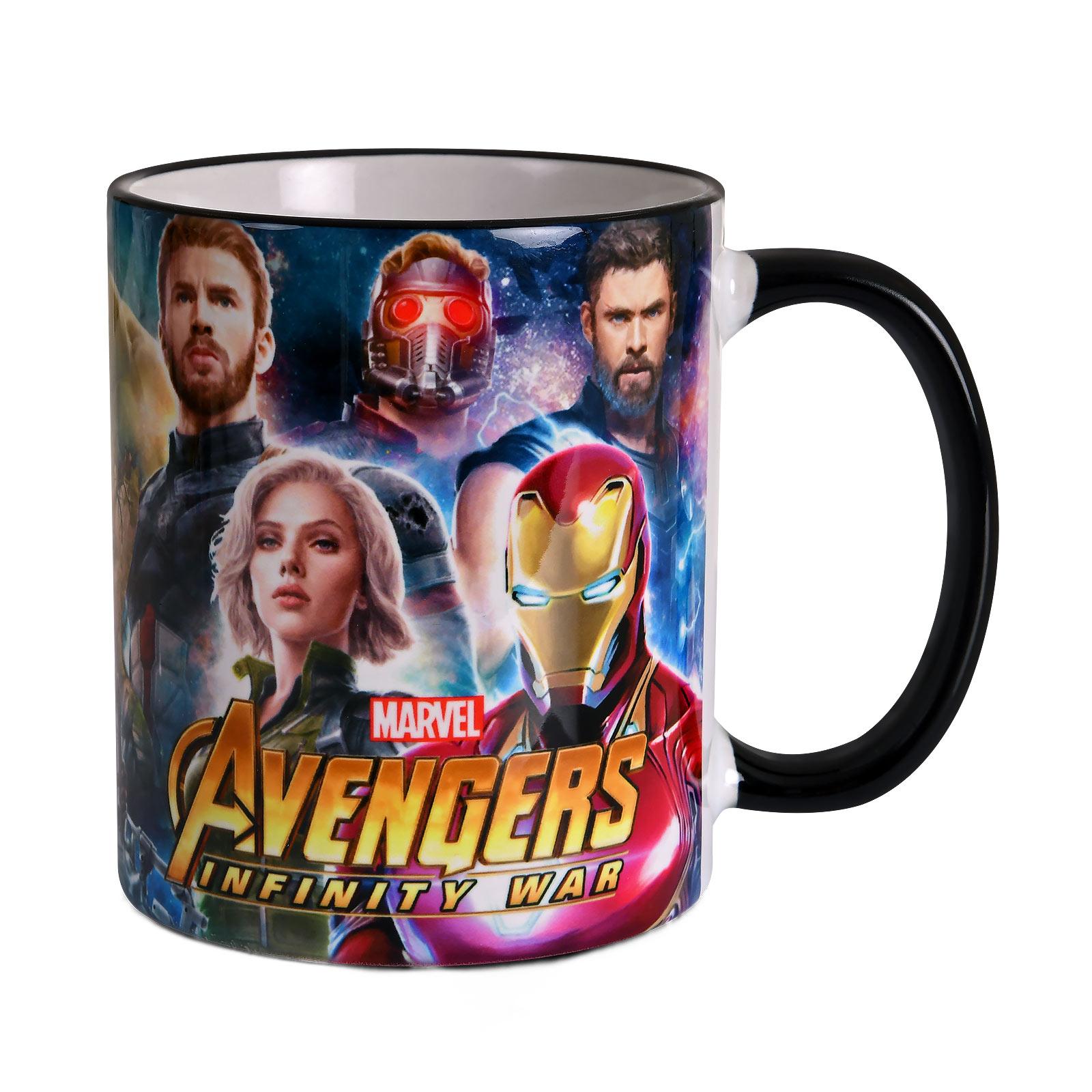 Avengers - Infinity Heroes Collage Tasse