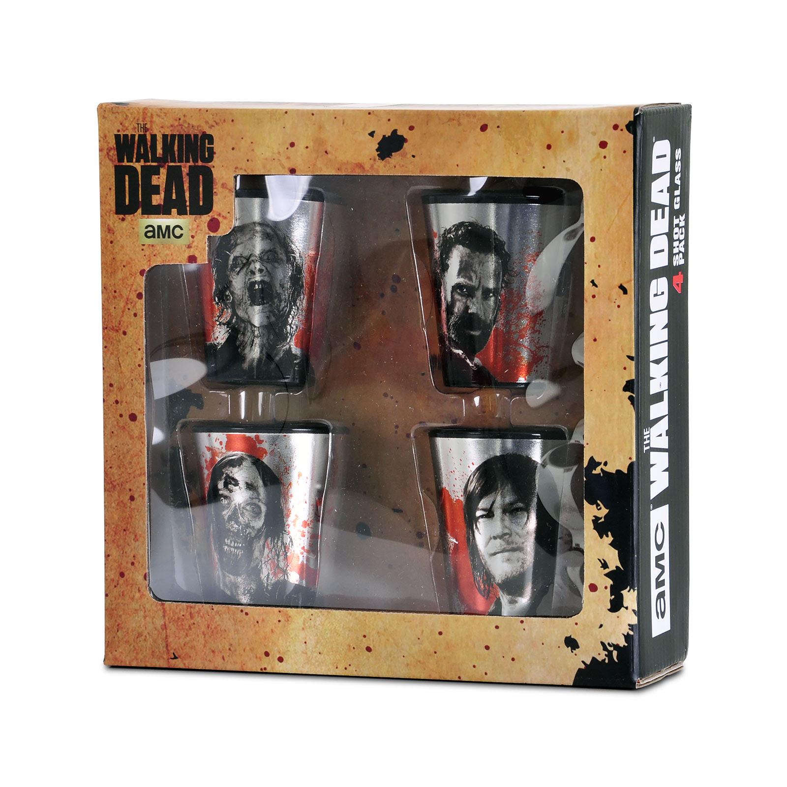 Walking Dead - Characters Shots Gläserset