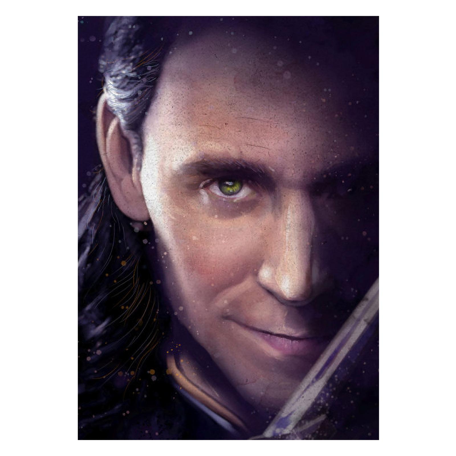 Loki - Marvel Metall Poster