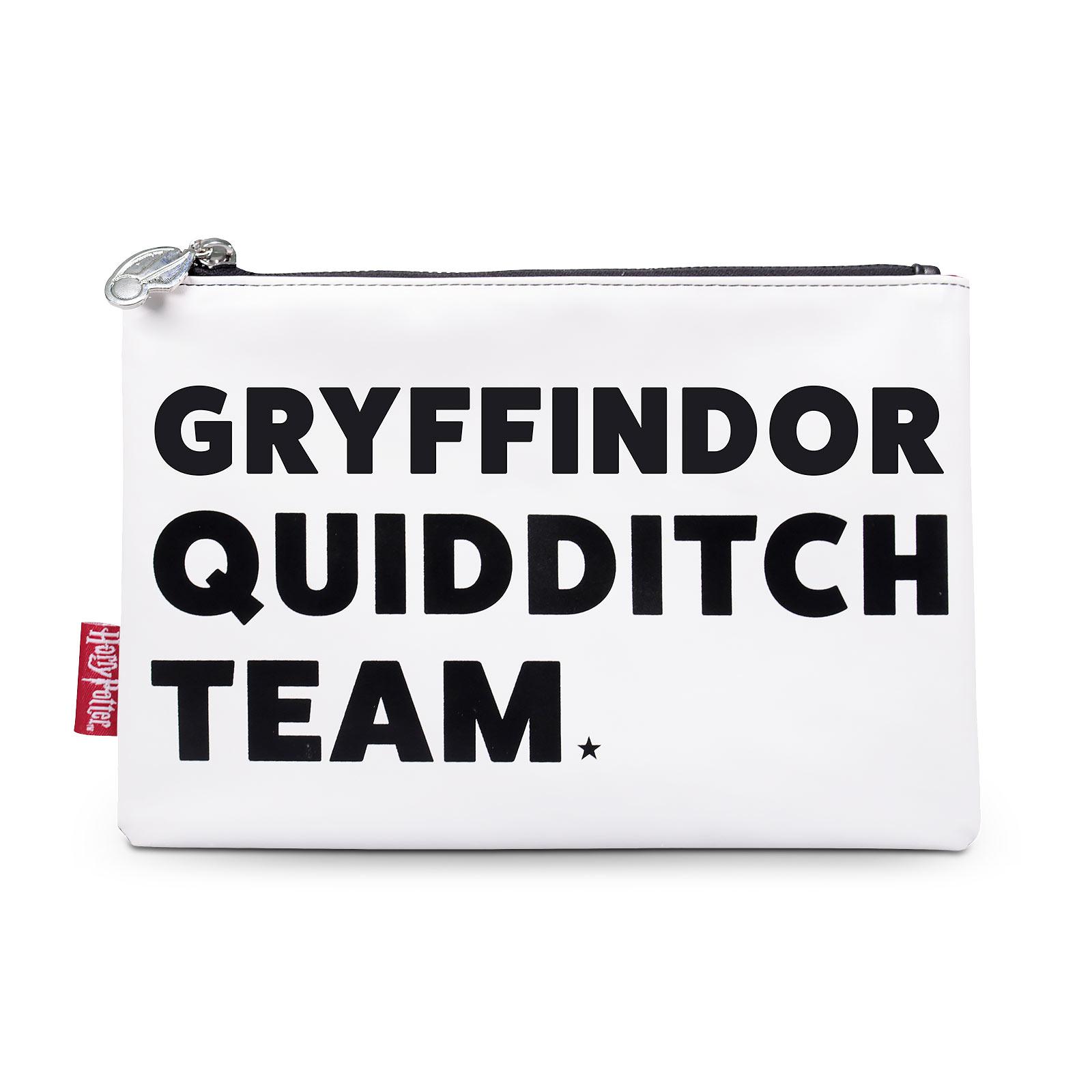 Harry Potter - Gryffindor Quidditch Team Kosmetiktasche