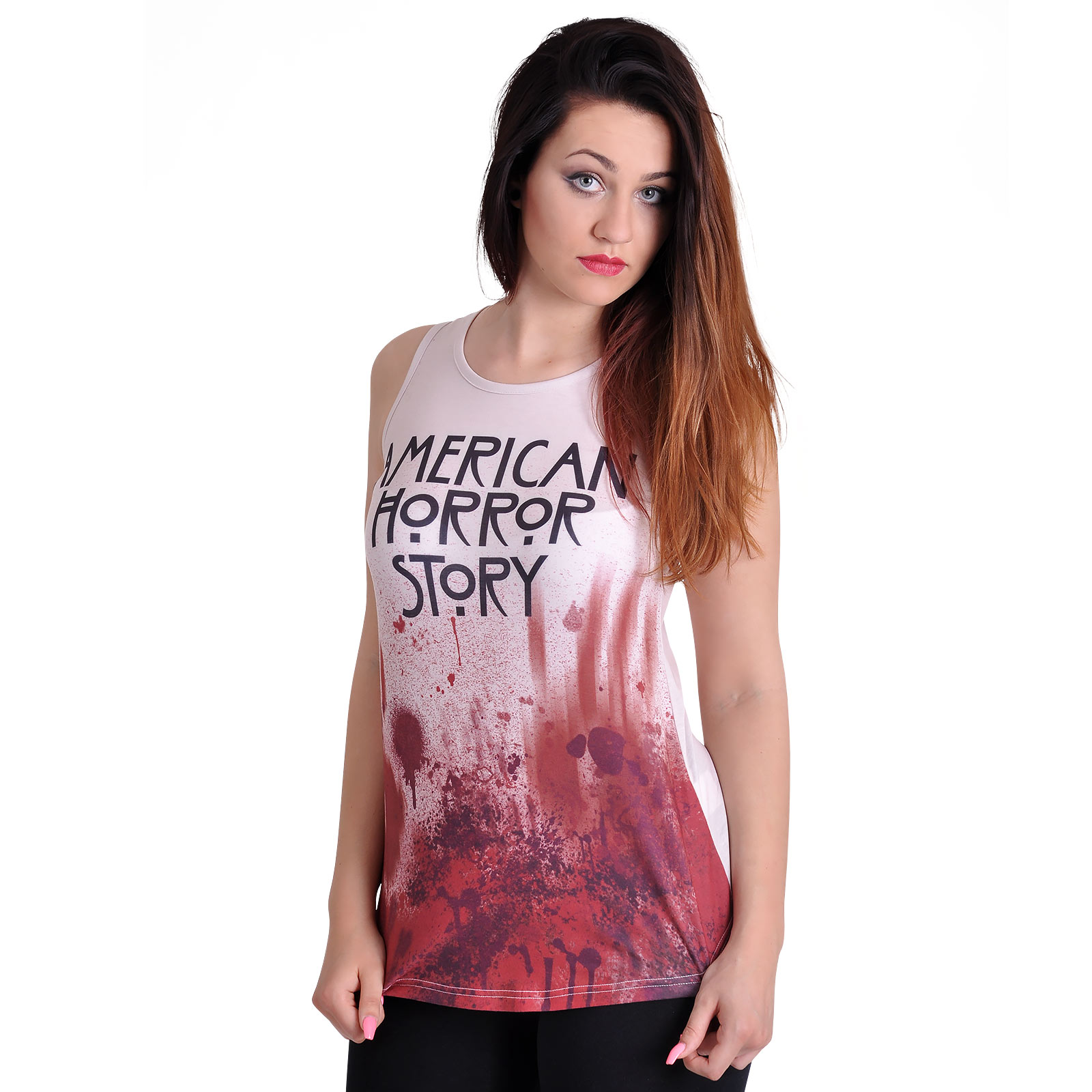 American Horror Story - Blood Tank Top creme