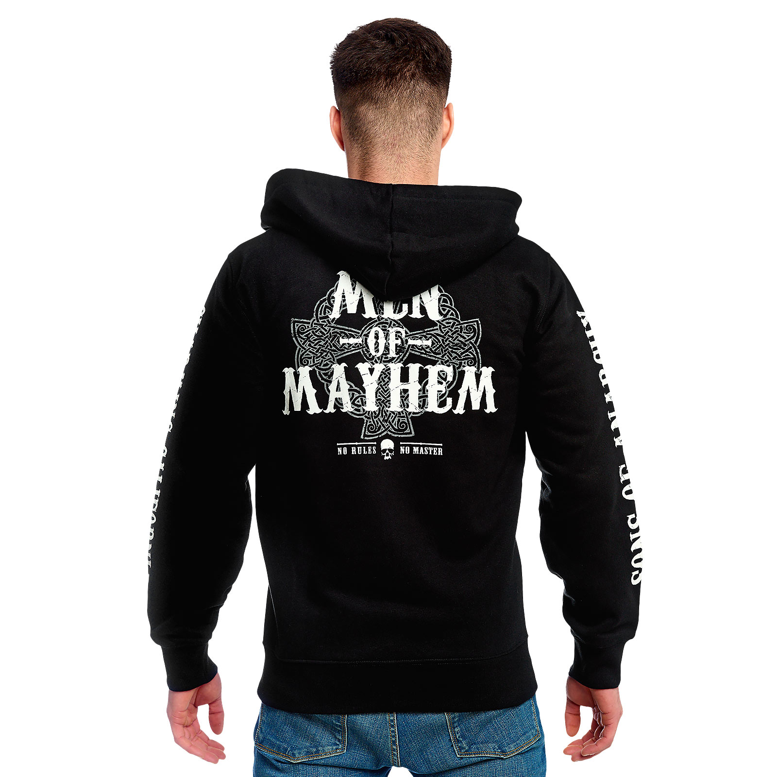 Sons of Anarchy - Men of Mayhem Kapuzenjacke schwarz