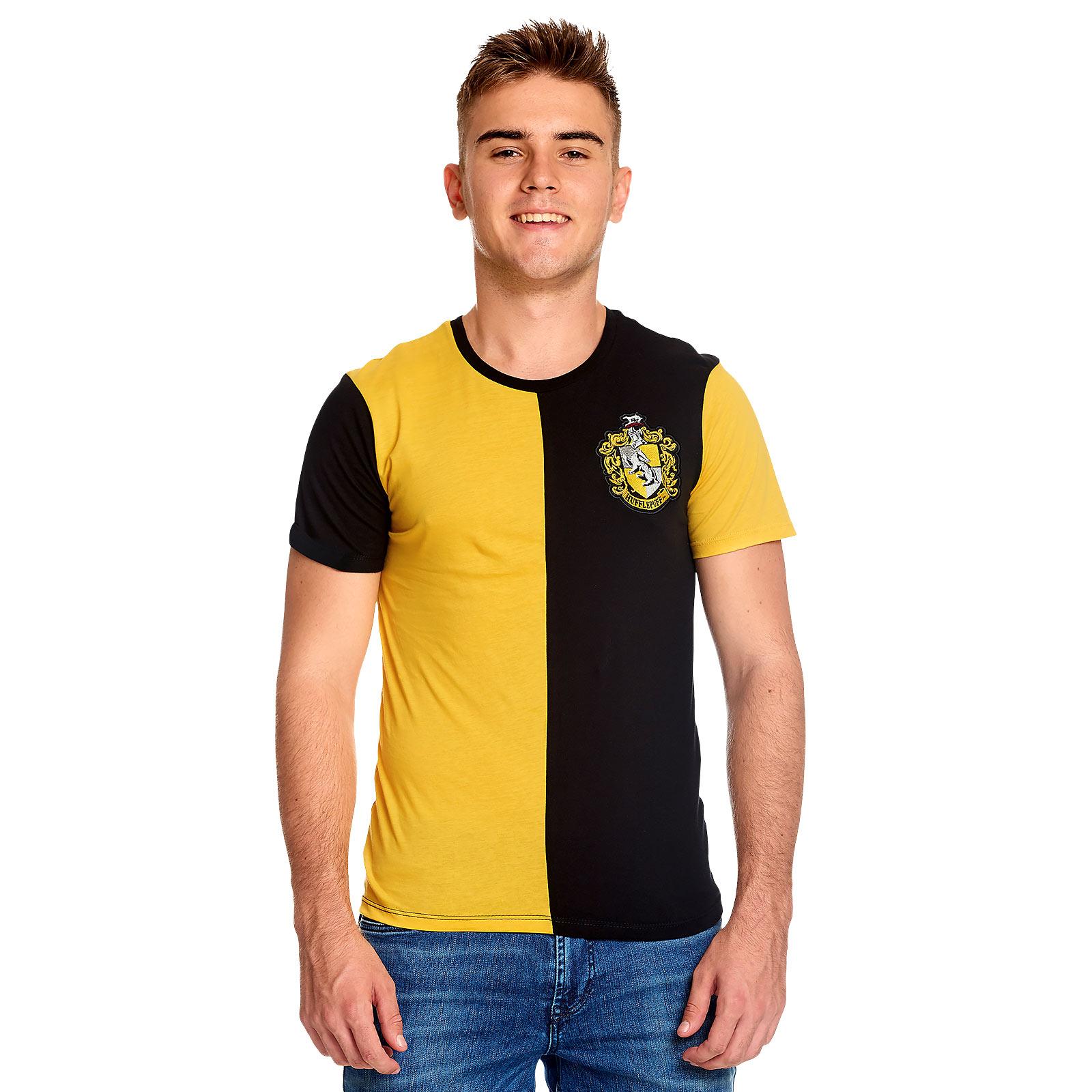 Harry Potter - Hufflepuff Tournament T-Shirt gelb-schwarz