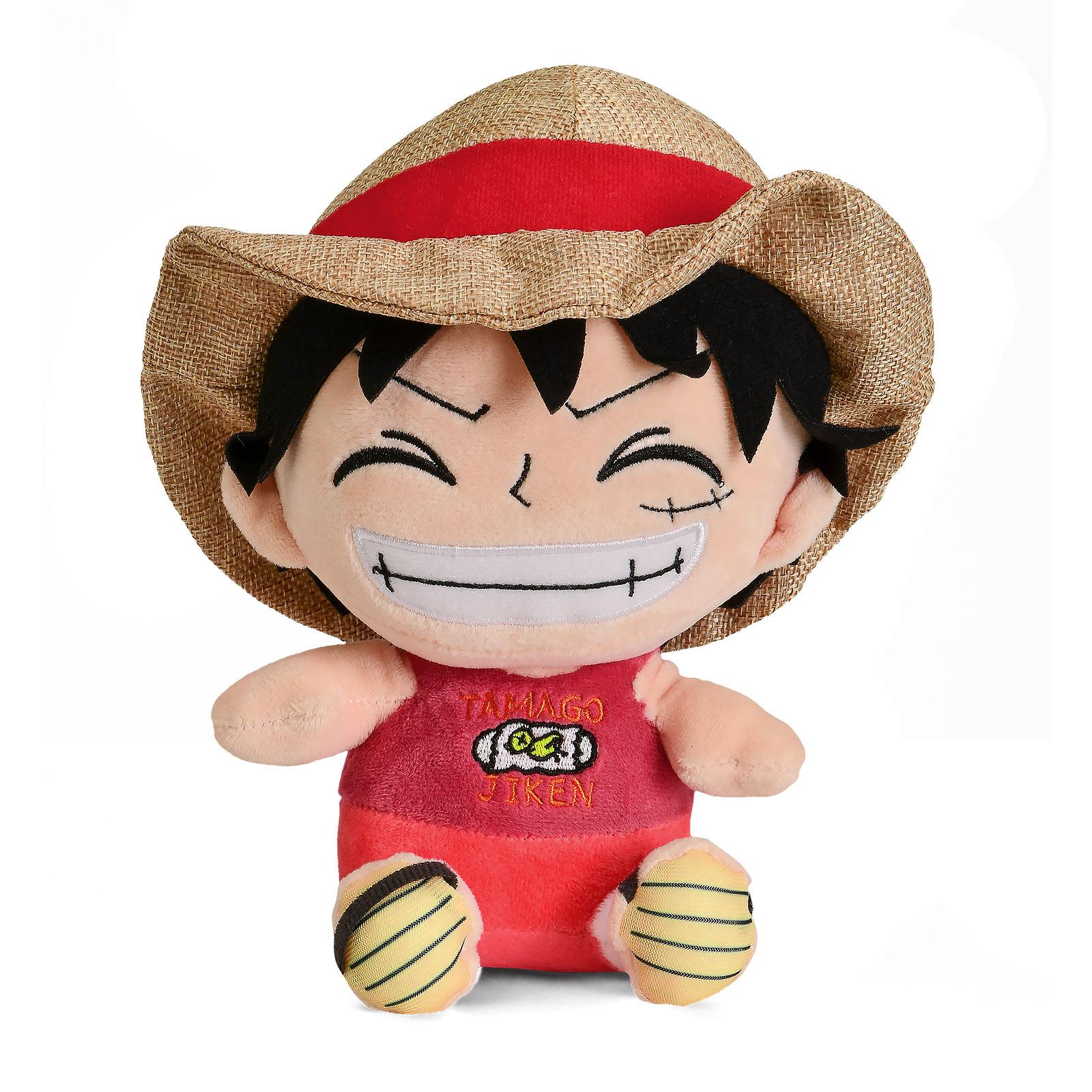 One Piece - Ruffy Plüsch Figur 20 cm