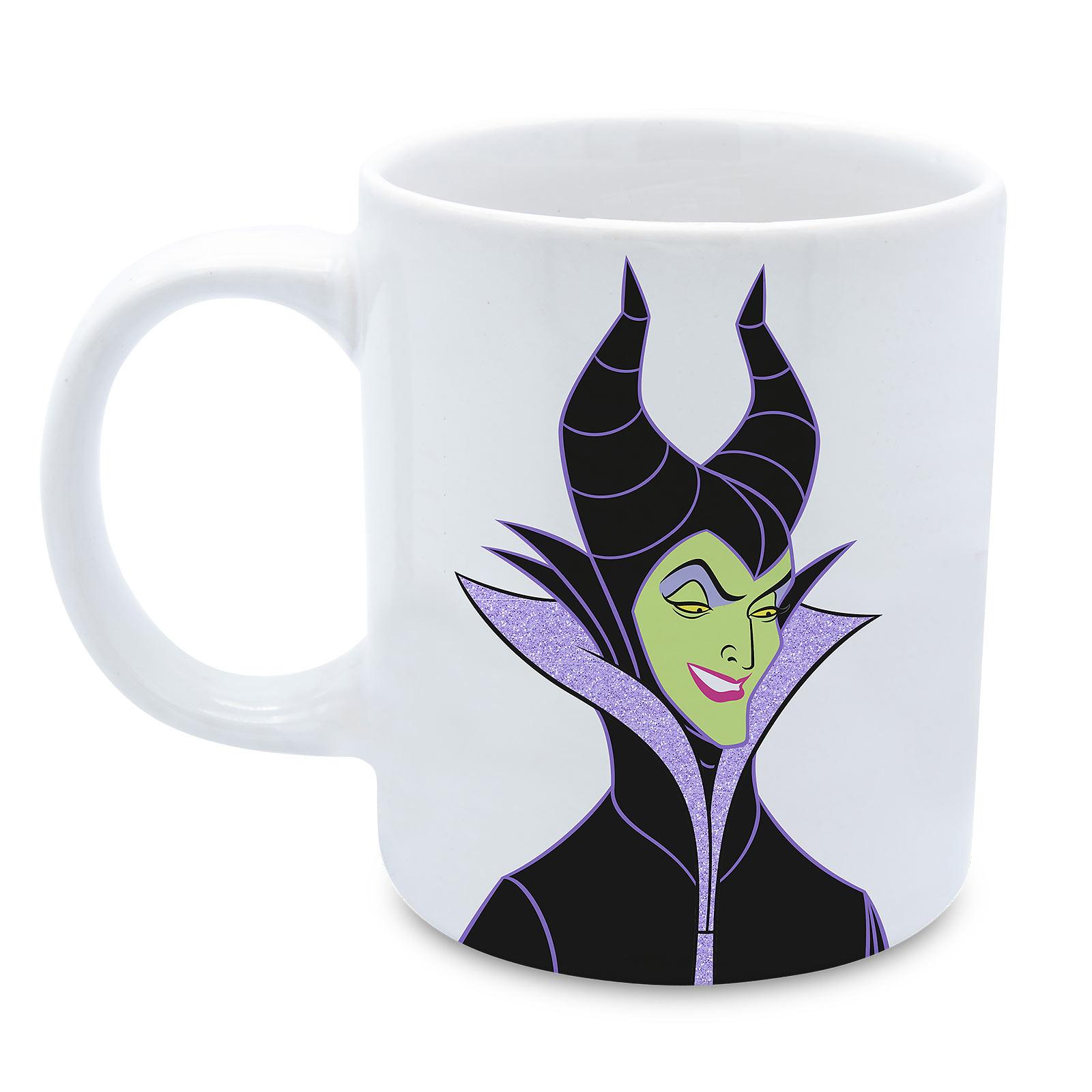 Disney - Maleficent Evil Tasse mit Glitzer