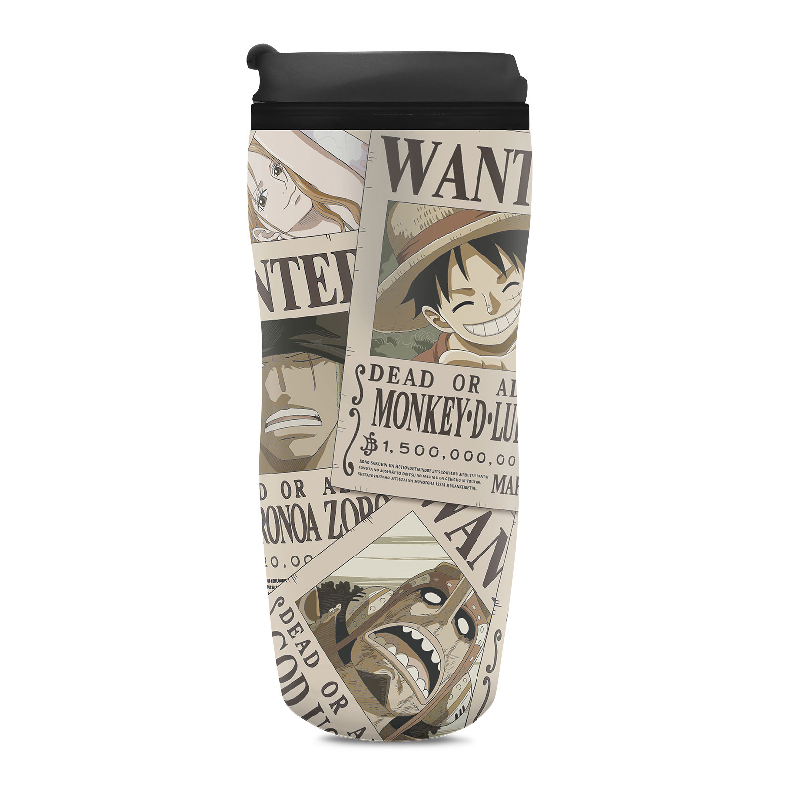 One Piece - Wanted To Go Becher