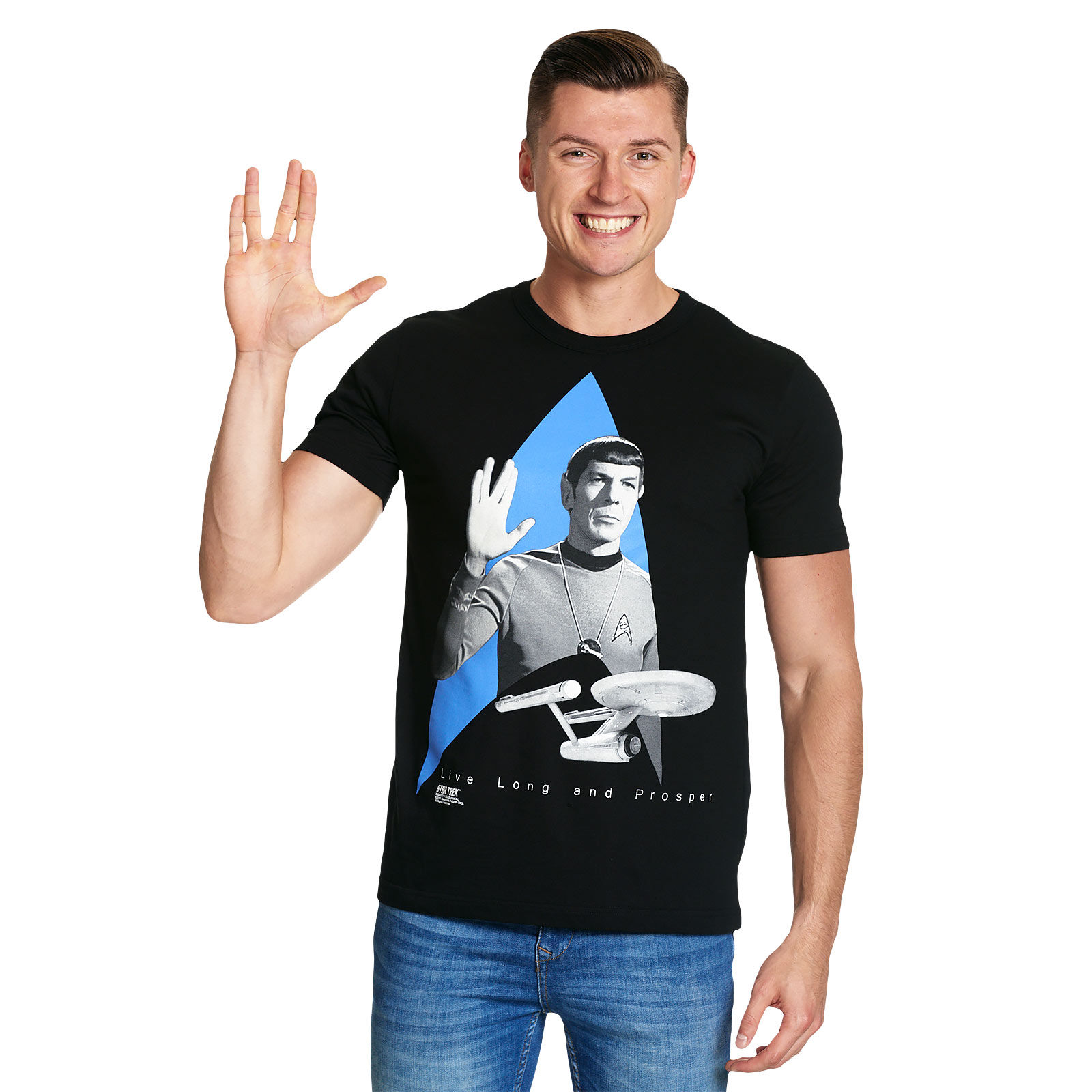 Star Trek - Logo Enterprise T-Shirt