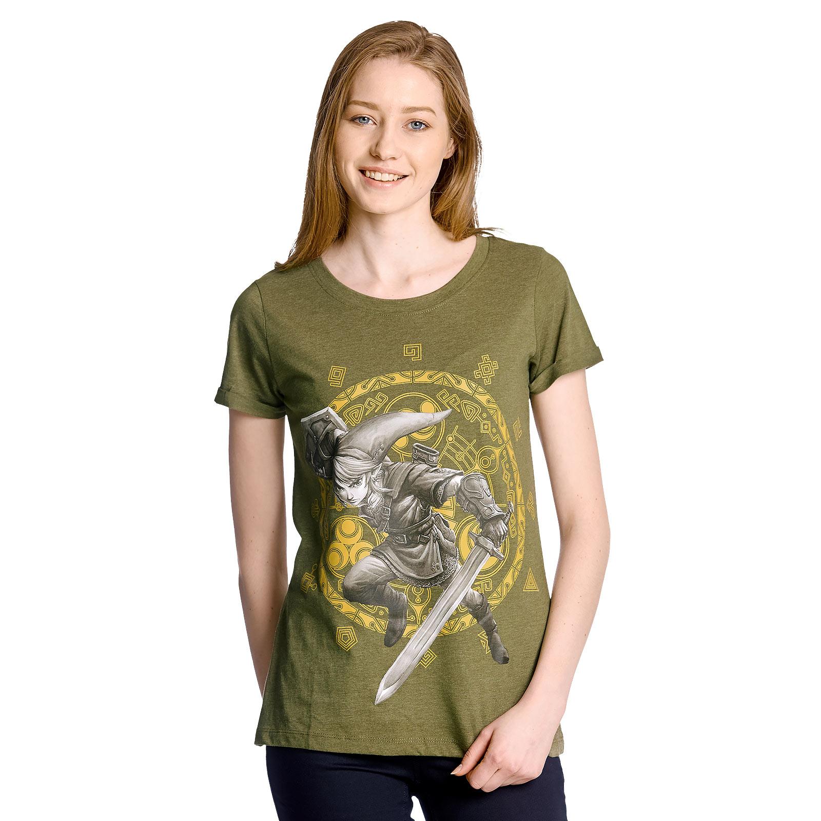 Zelda - Gate of Time Girlie Shirt