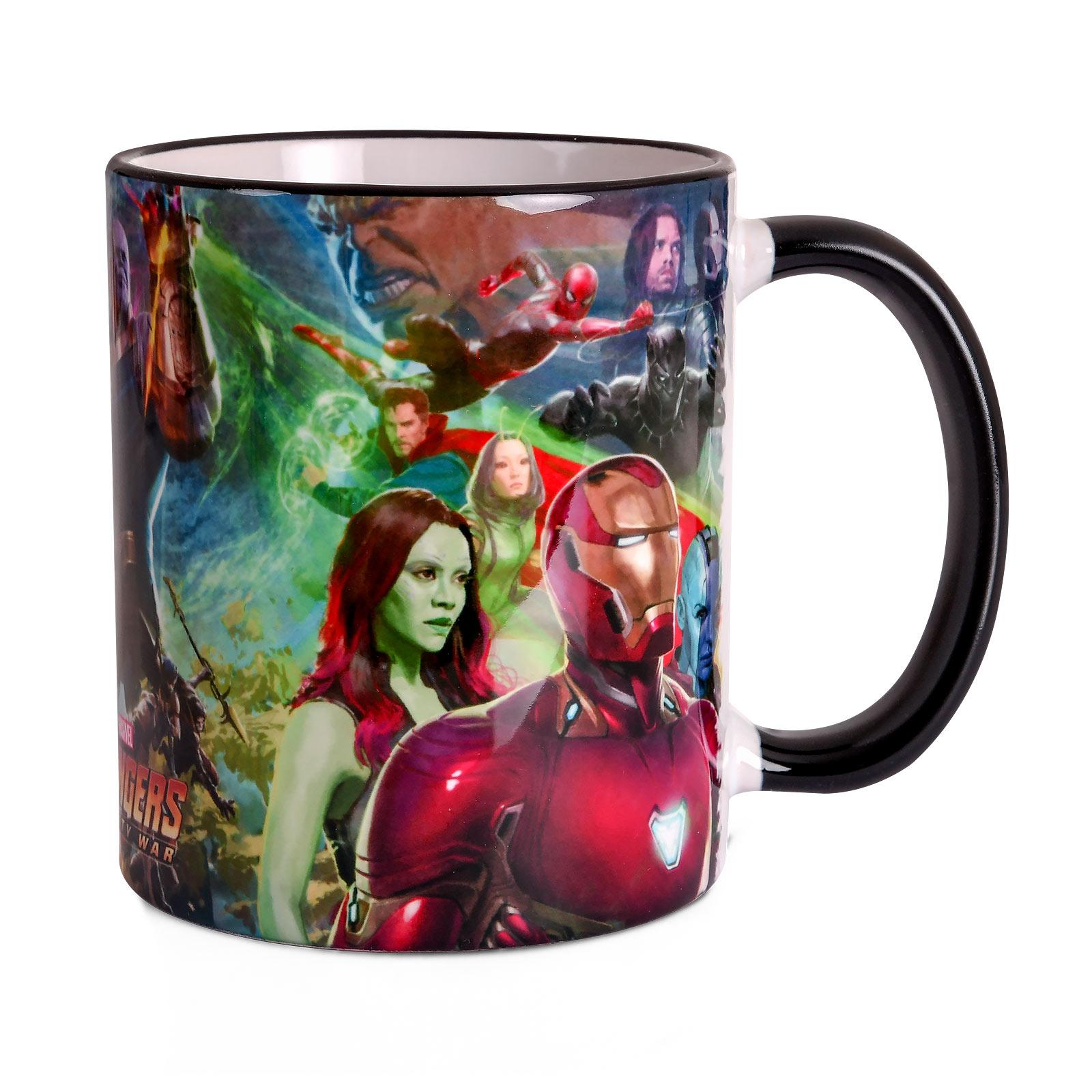 Avengers - Infinity War Collage Tasse