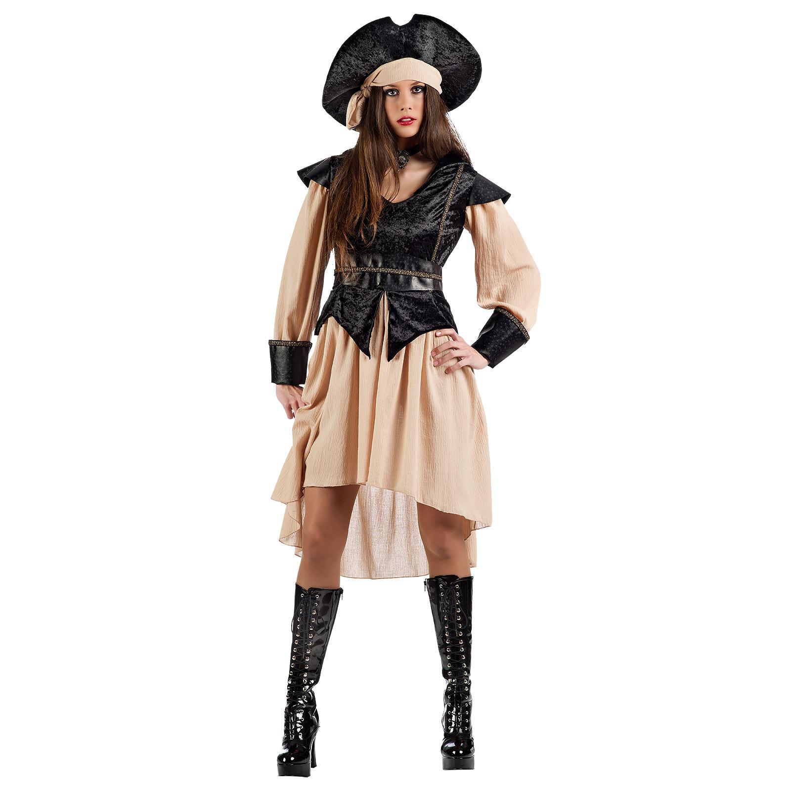Piratin der sieben Meere - Kostüm Damen