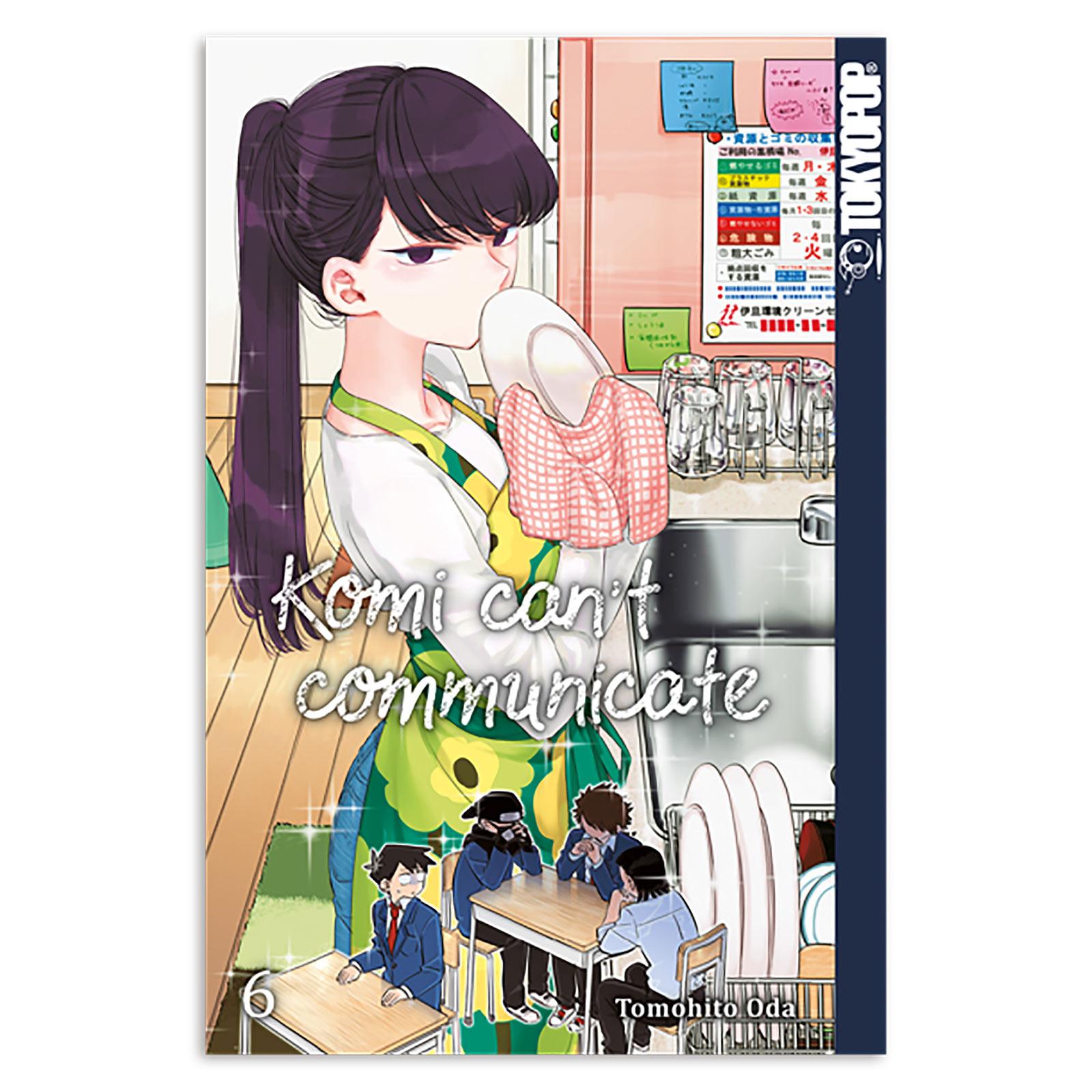 Komi can't communicate - Band 6 Taschenbuch