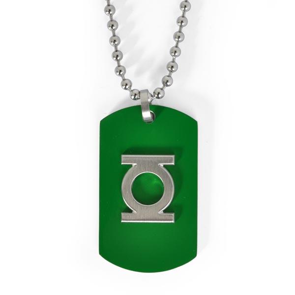 Green Lantern - Anhänger grün an Kette