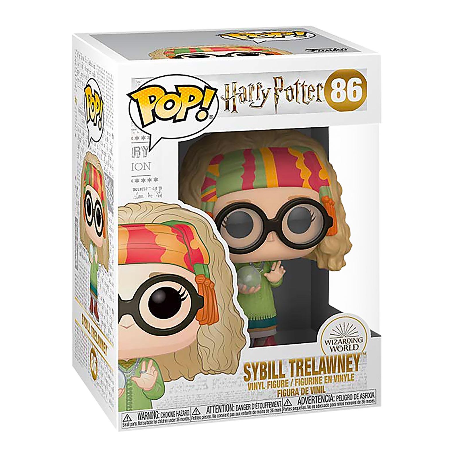 Harry Potter - Professor Trelawney mit Kristallkugel Funko Pop Figur