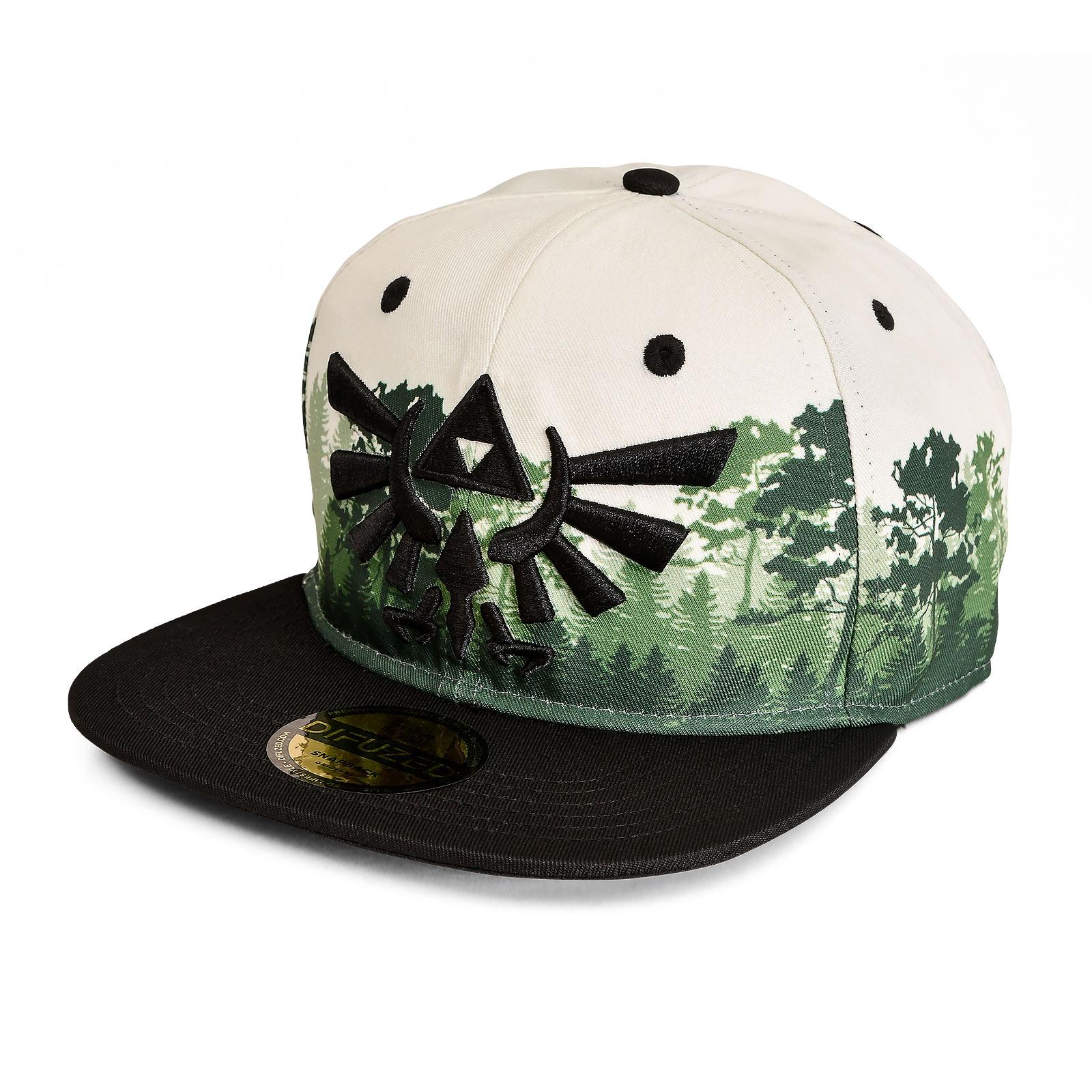 Zelda - Hyrule Green Forest Snapback Cap