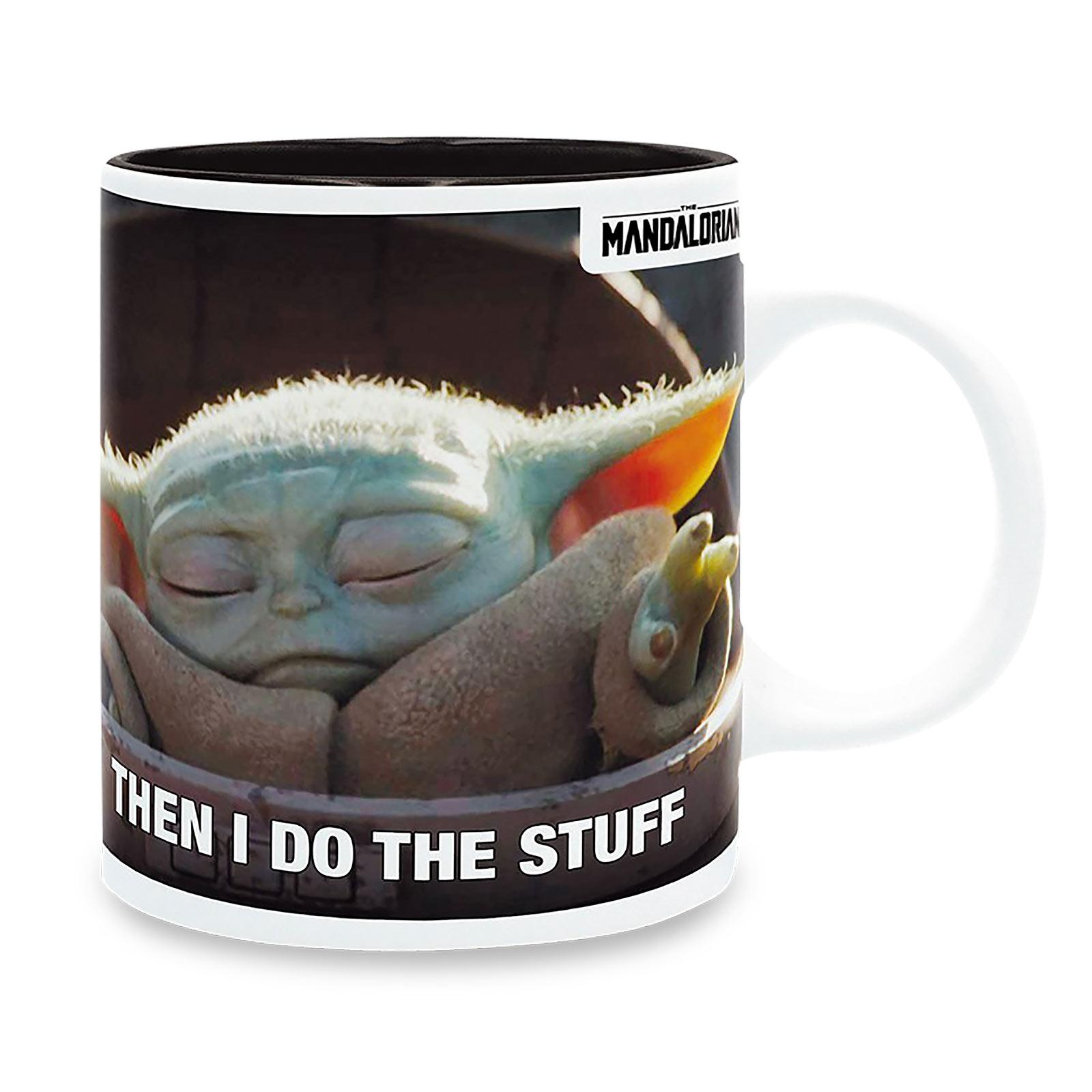 Grogu Drink Coffee & Do Stuff Tasse - Star Wars The Mandalorian