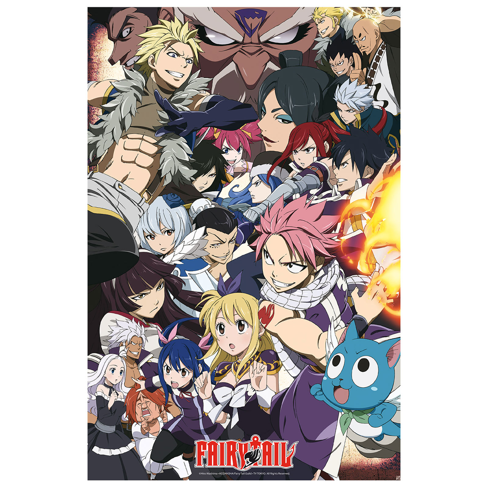 Fairy Tail vs. Other Guilds Maxi Poster