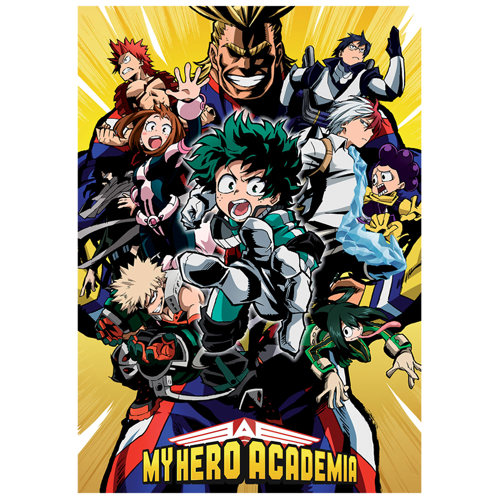 My Hero Academia - Characters Maxi Poster