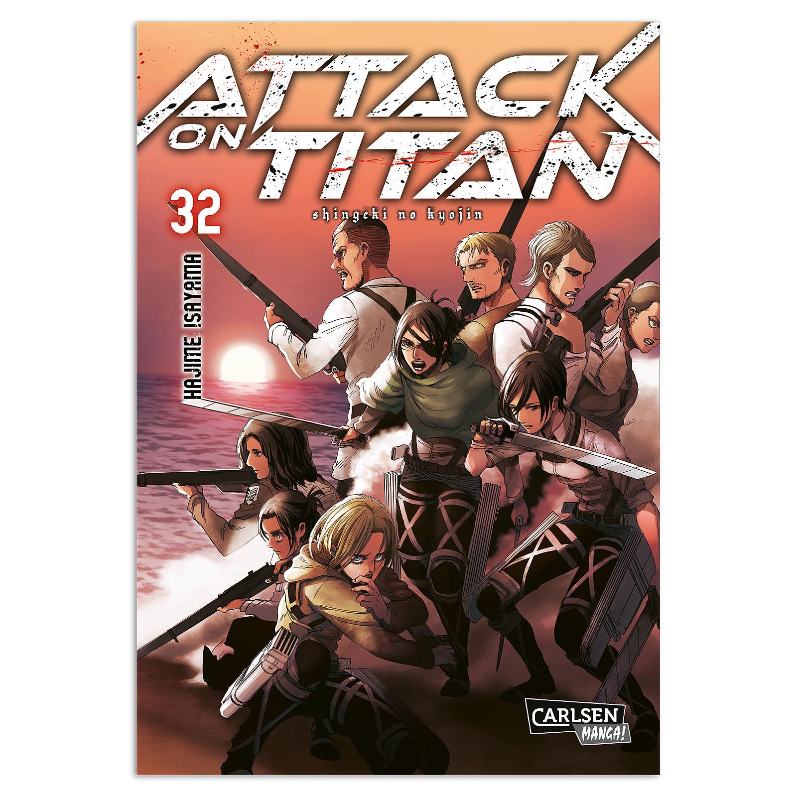 Attack on Titan - Band 32 Taschenbuch