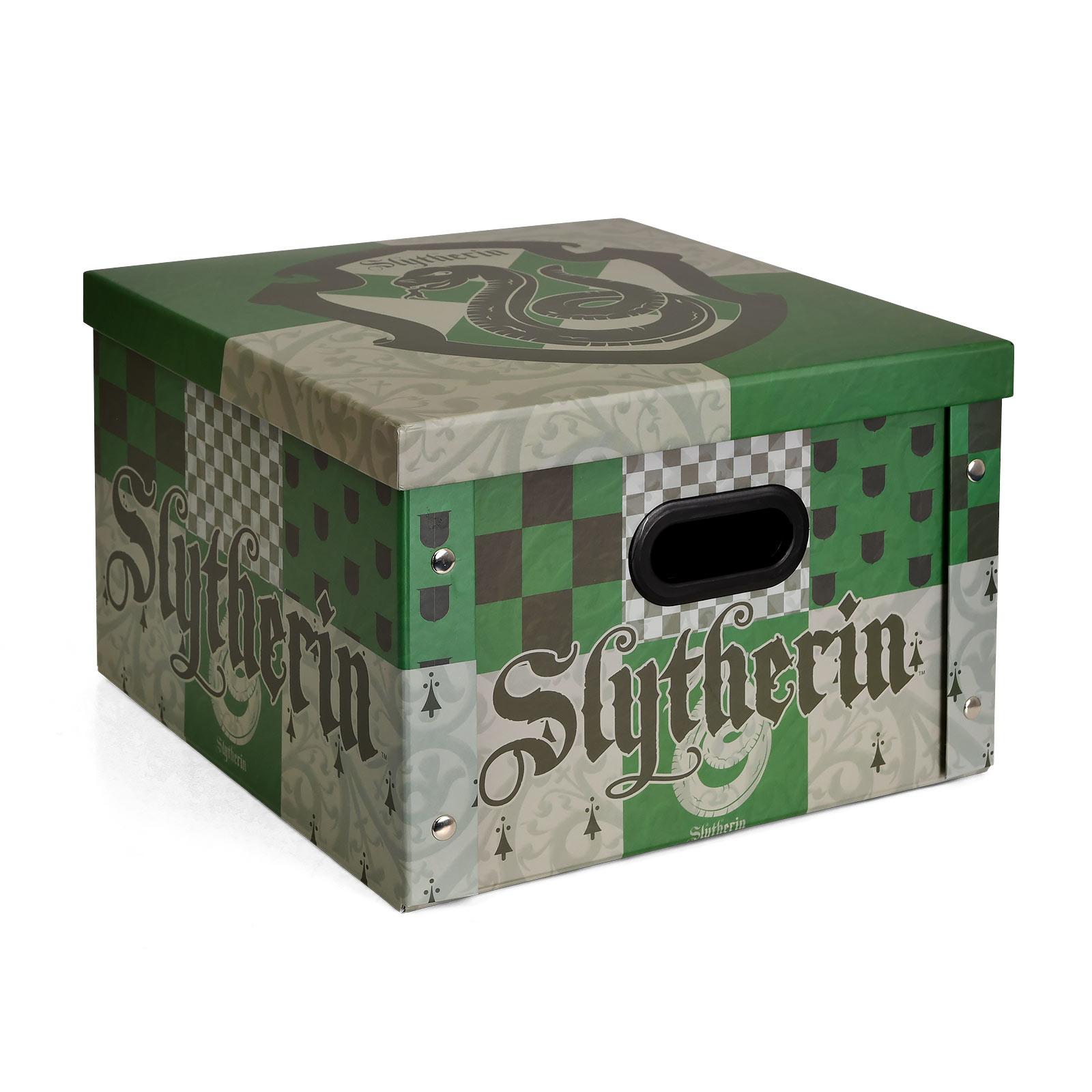Harry Potter - Slytherin Aufbewahrungsbox