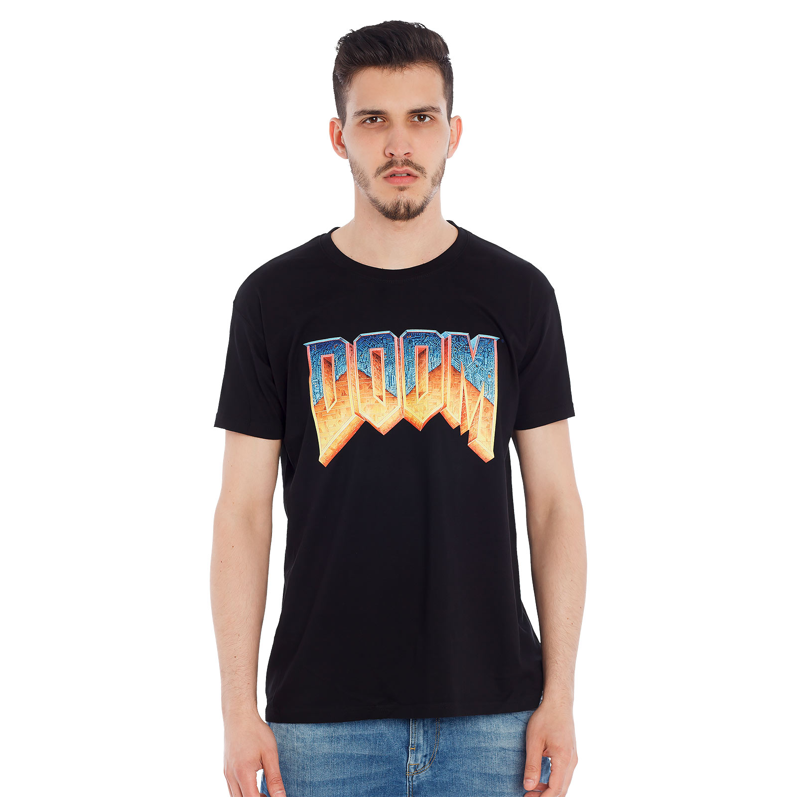 Doom - Logo T-Shirt schwarz