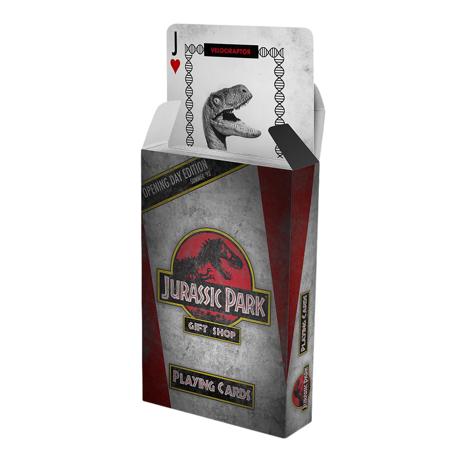 Jurassic Park - Logo Spielkarten