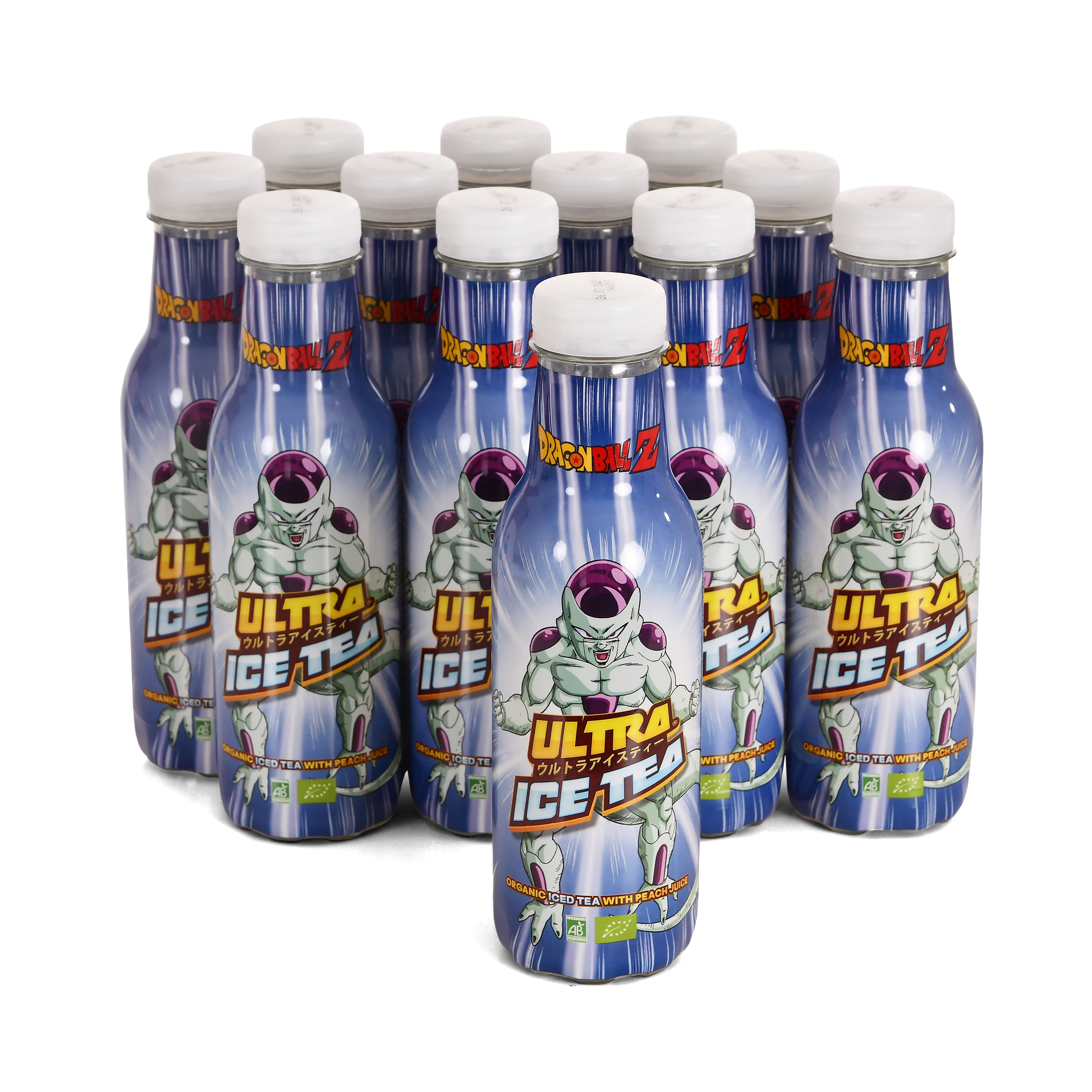 Dragon Ball Z - Freezer Ultra Bio Eistee Pfirsich 12er Pack
