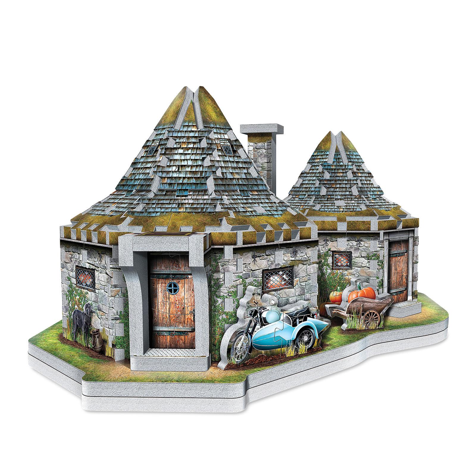 Harry Potter - Hagrids Hütte 3D Puzzle