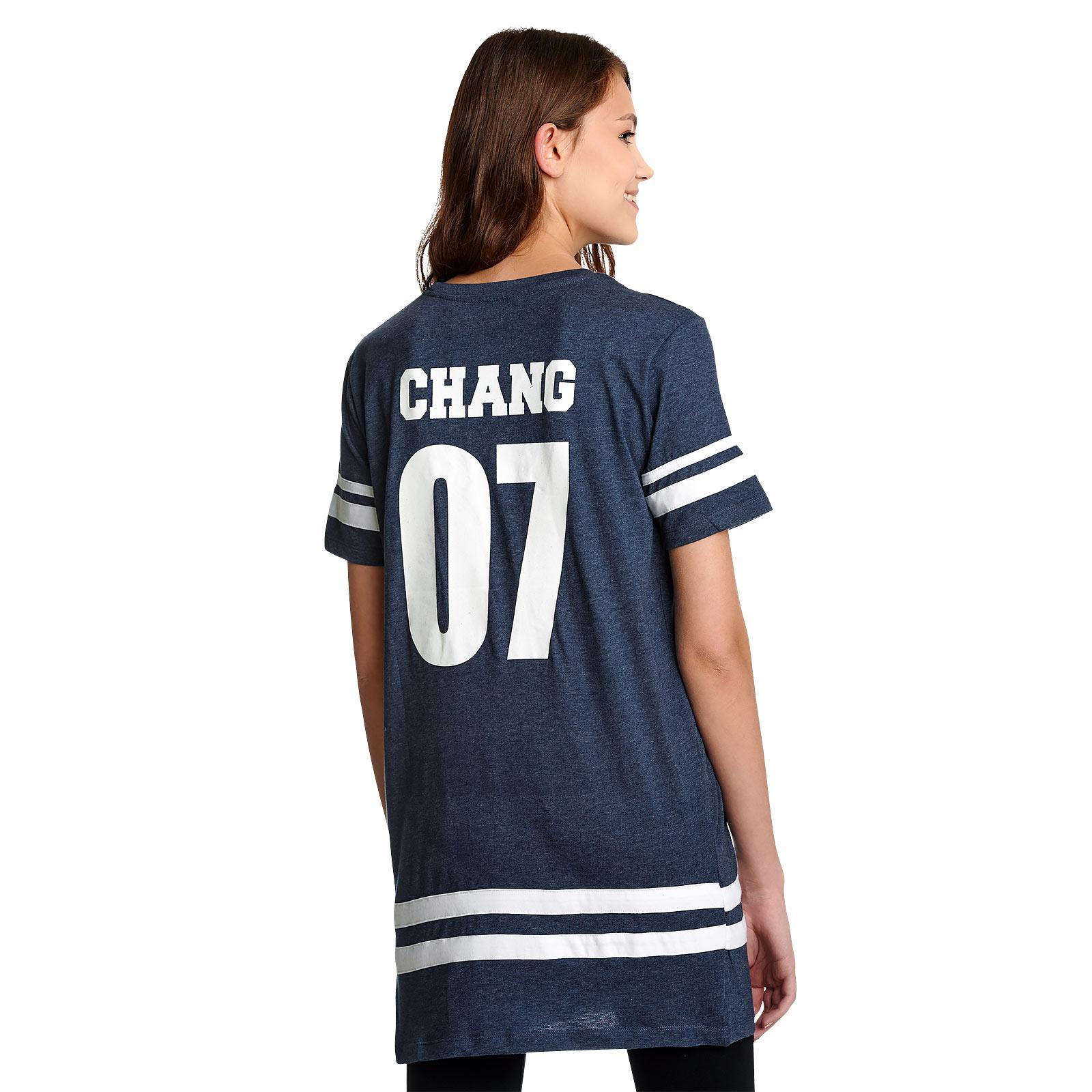 Ravenclaw Sucher Chang Oversize T-Shirt Damen blau - Harry Potter