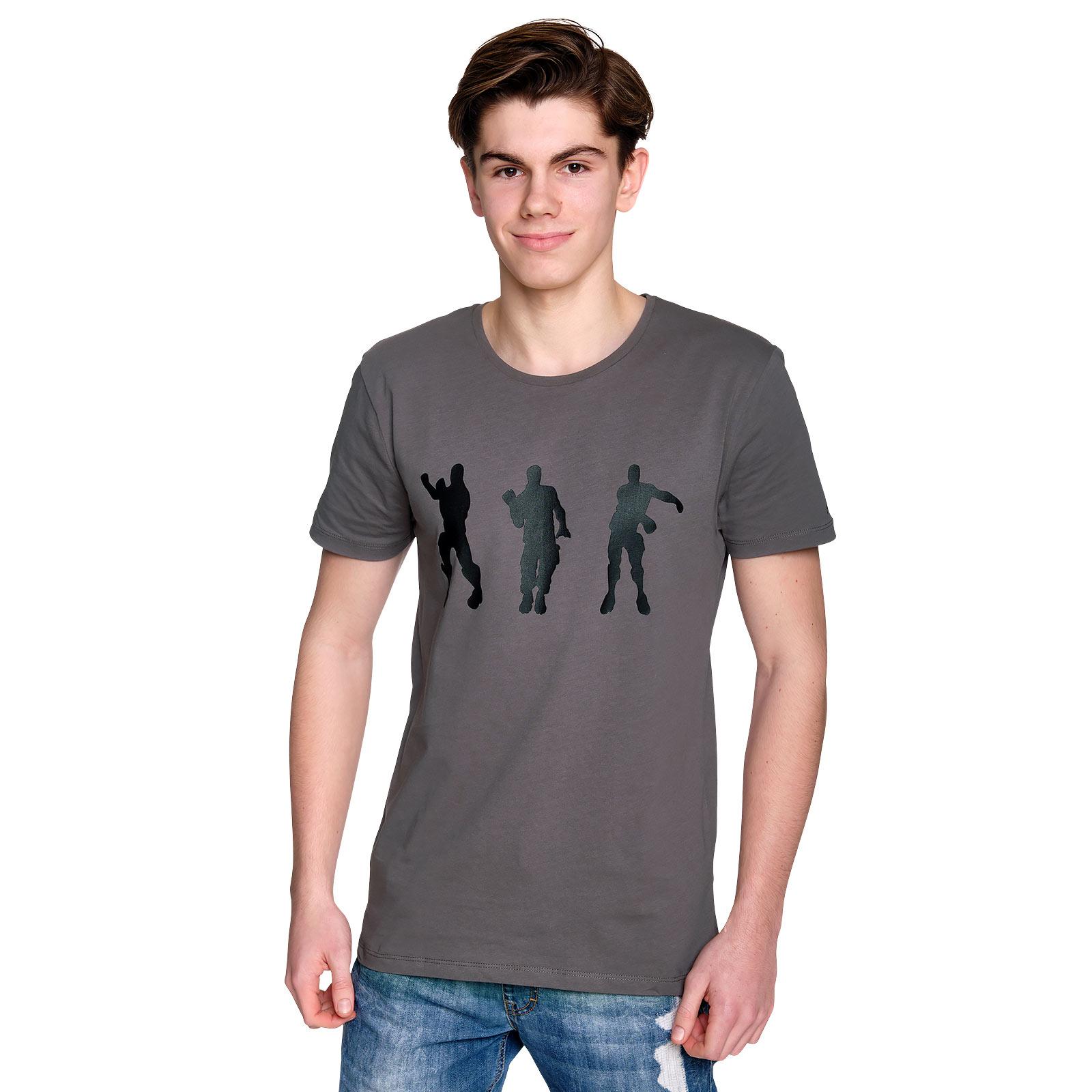 Fortnite - Emote T-Shirt grau