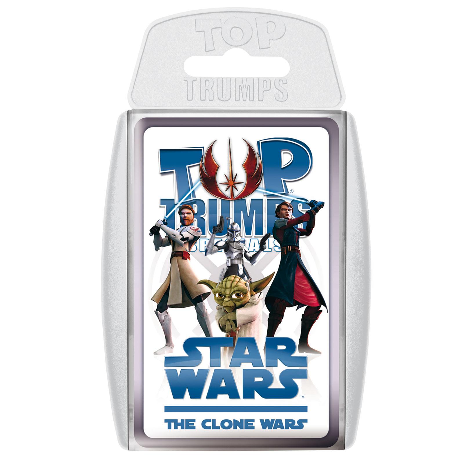 Star Wars - The Clone Wars Top Trumps Spielkarten