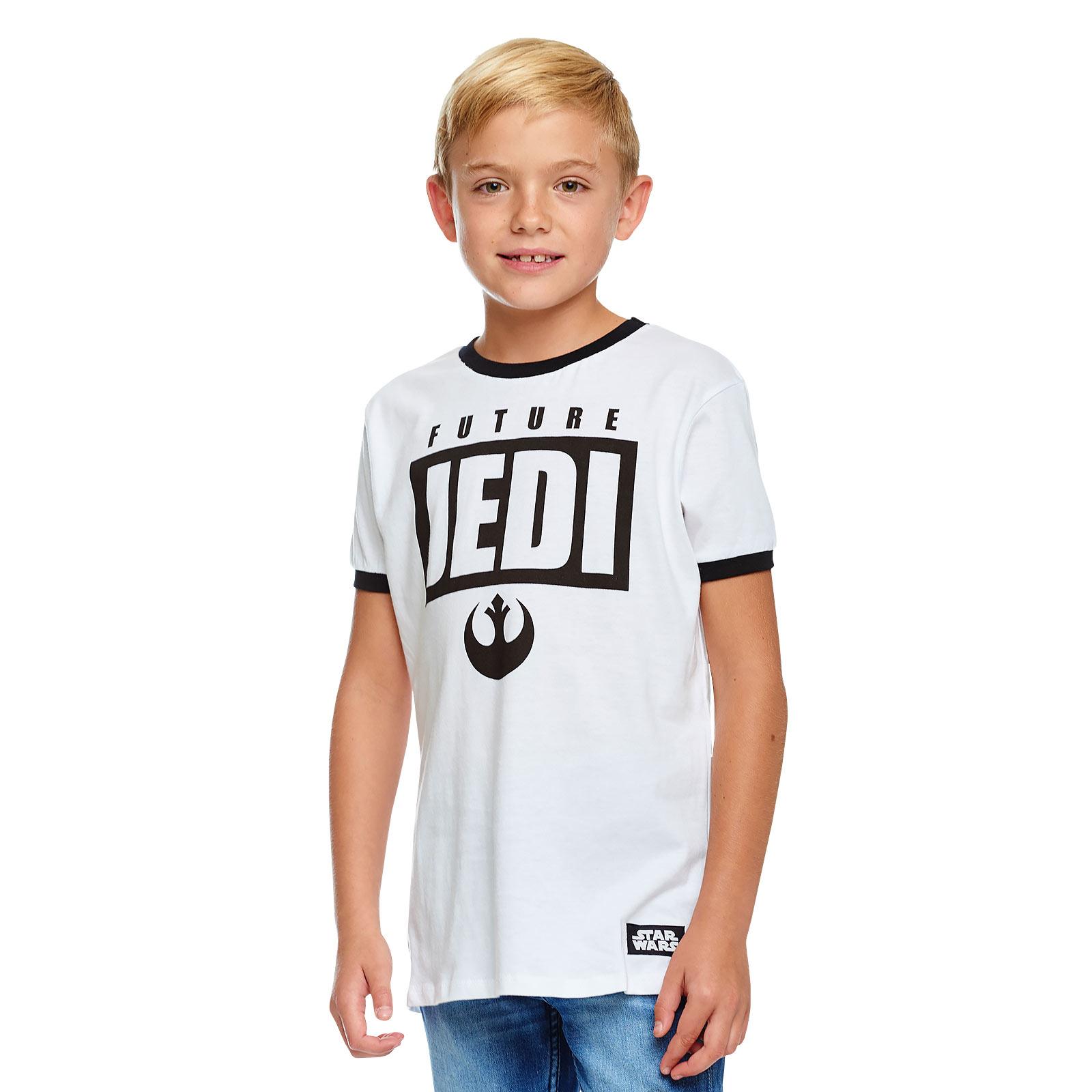 Star Wars - Future Jedi T-Shirt Kinder weiß