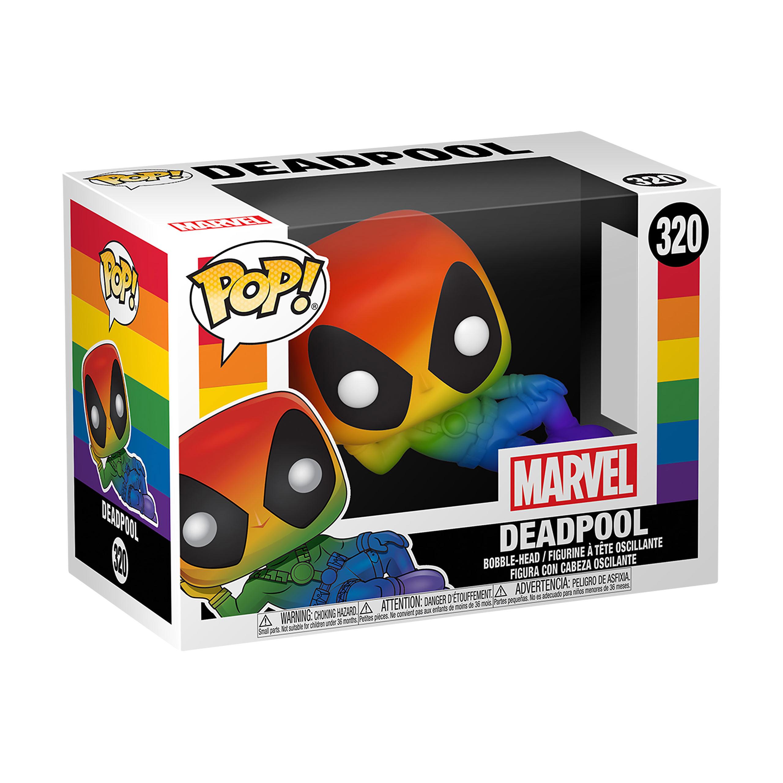 Marvel - Deadpool Rainbow Funko Pop Figur