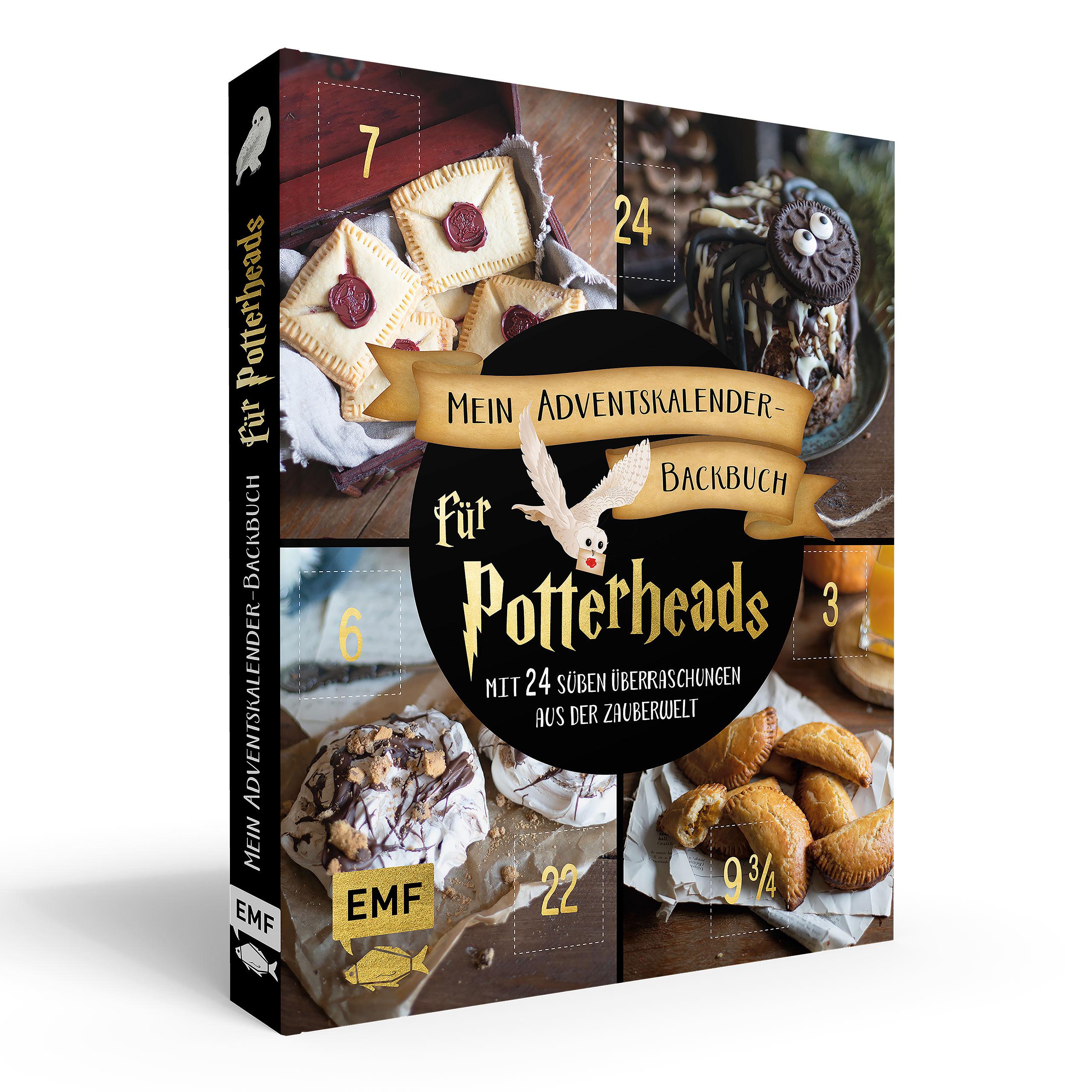 Mein Adventskalender Backbuch für Potterheads - Gebundene Ausgabe