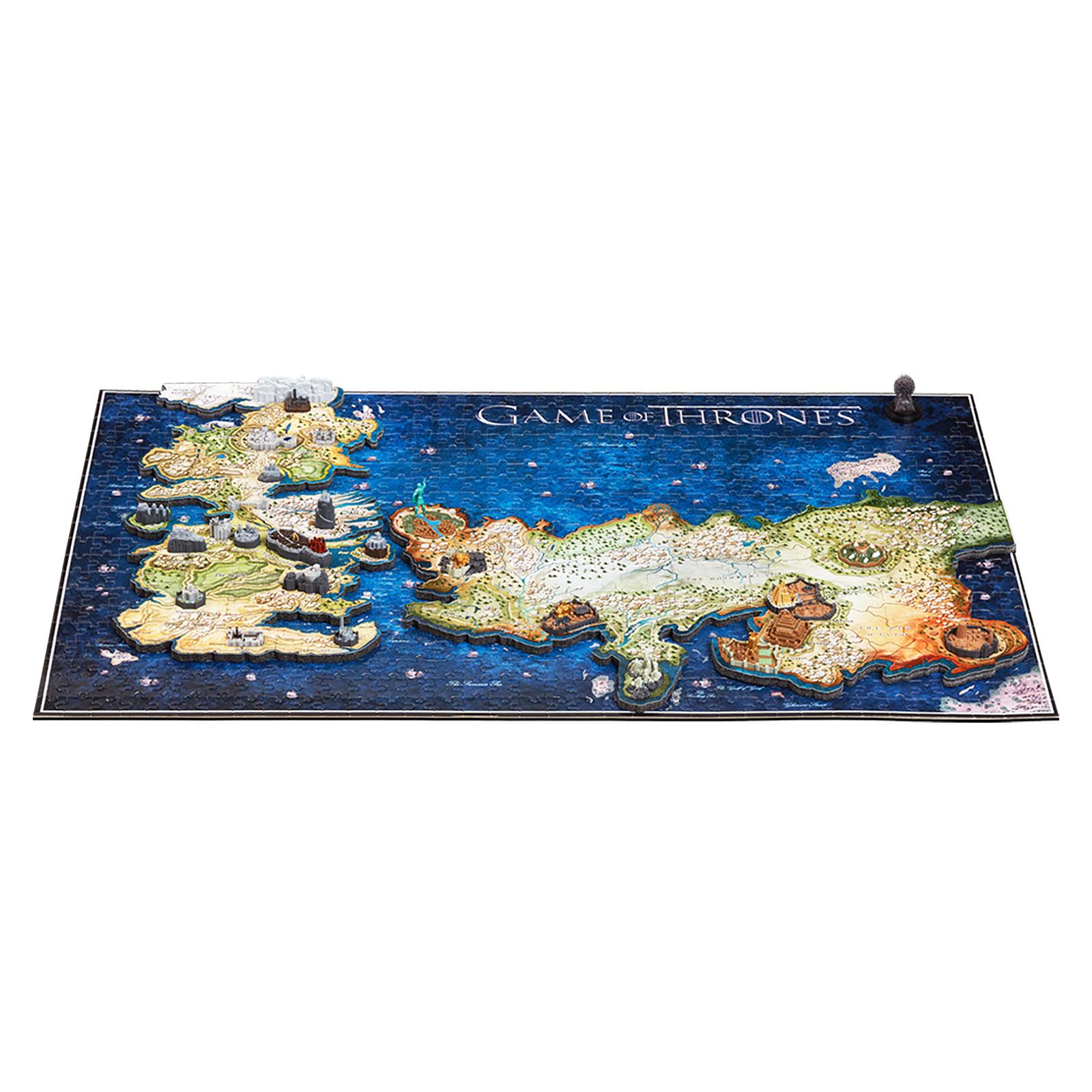 Game of Thrones - Westeros und Essos 4D Puzzle