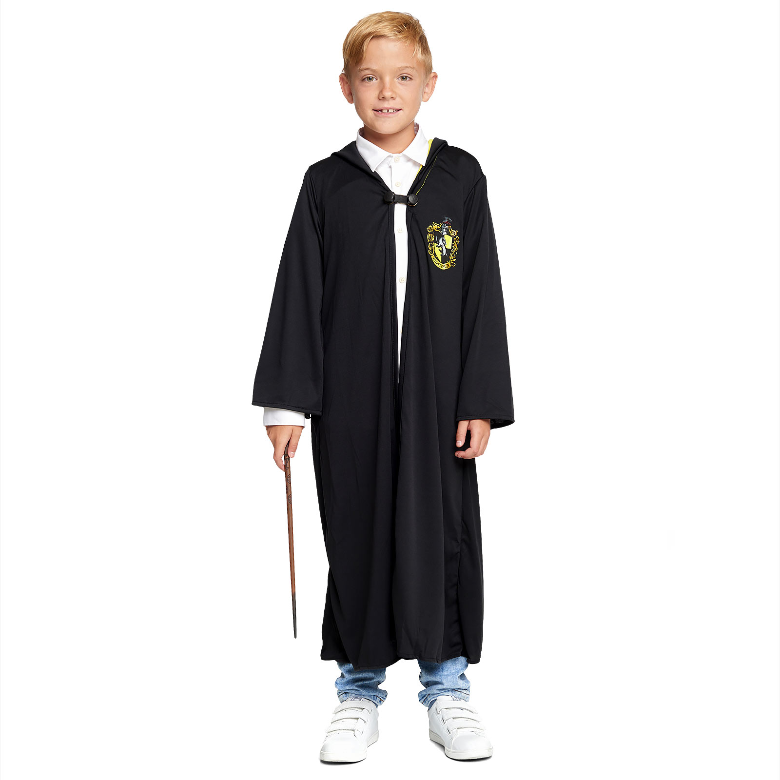 Harry Potter - Hufflepuff Robe für Kinder