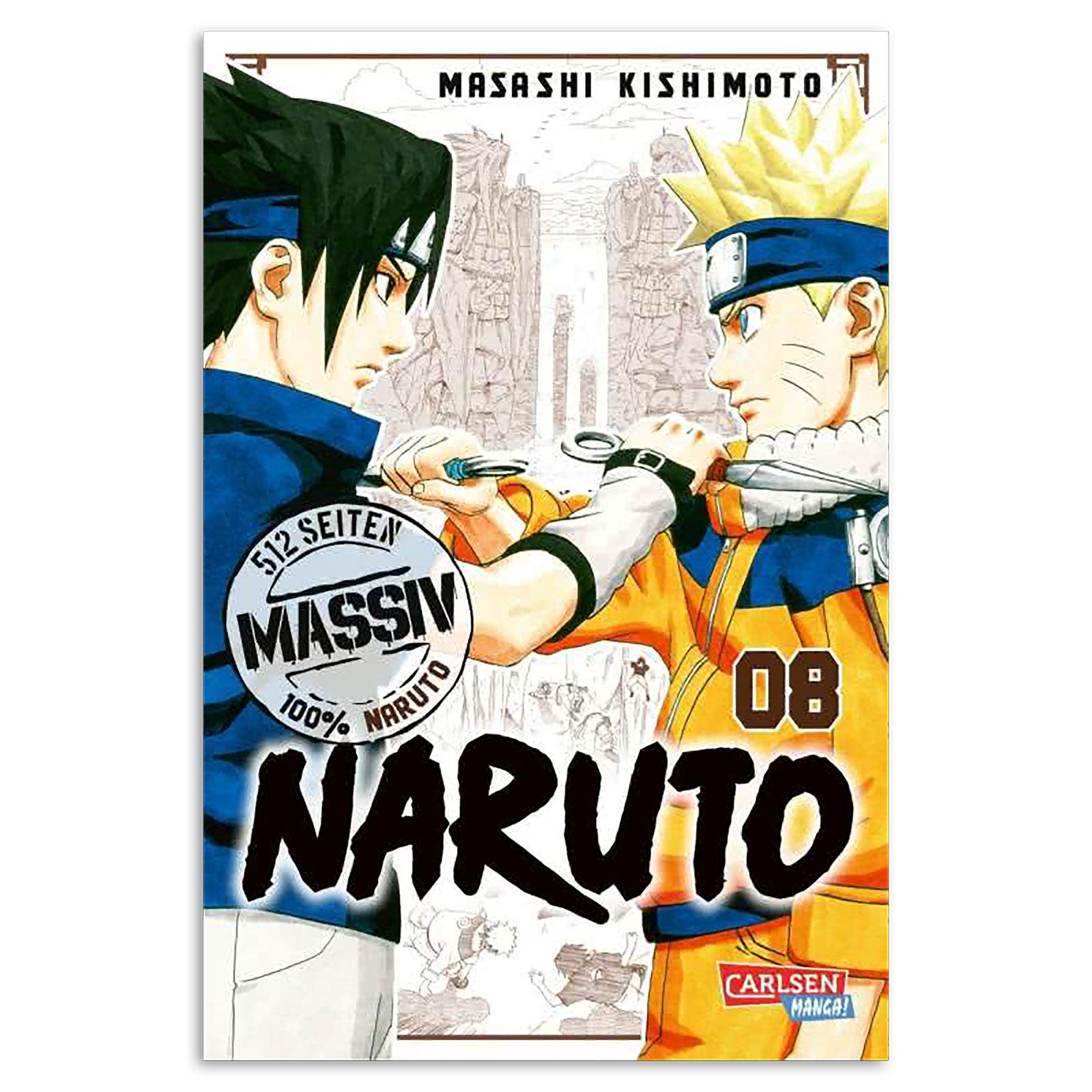 Naruto - Sammelband 8 Taschenbuch