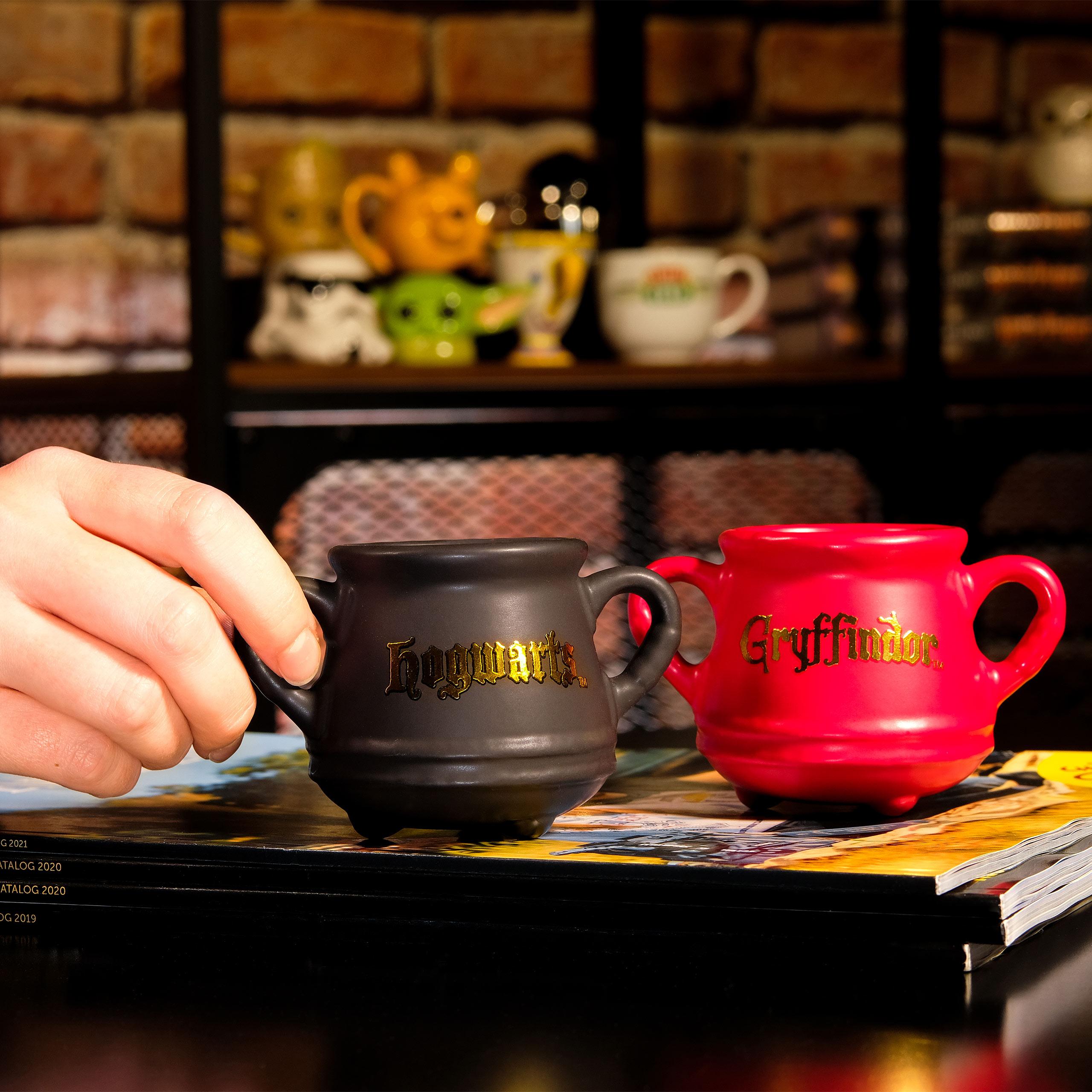 Harry Potter - Gryffindor Kessel 3D Espresso Tasse
