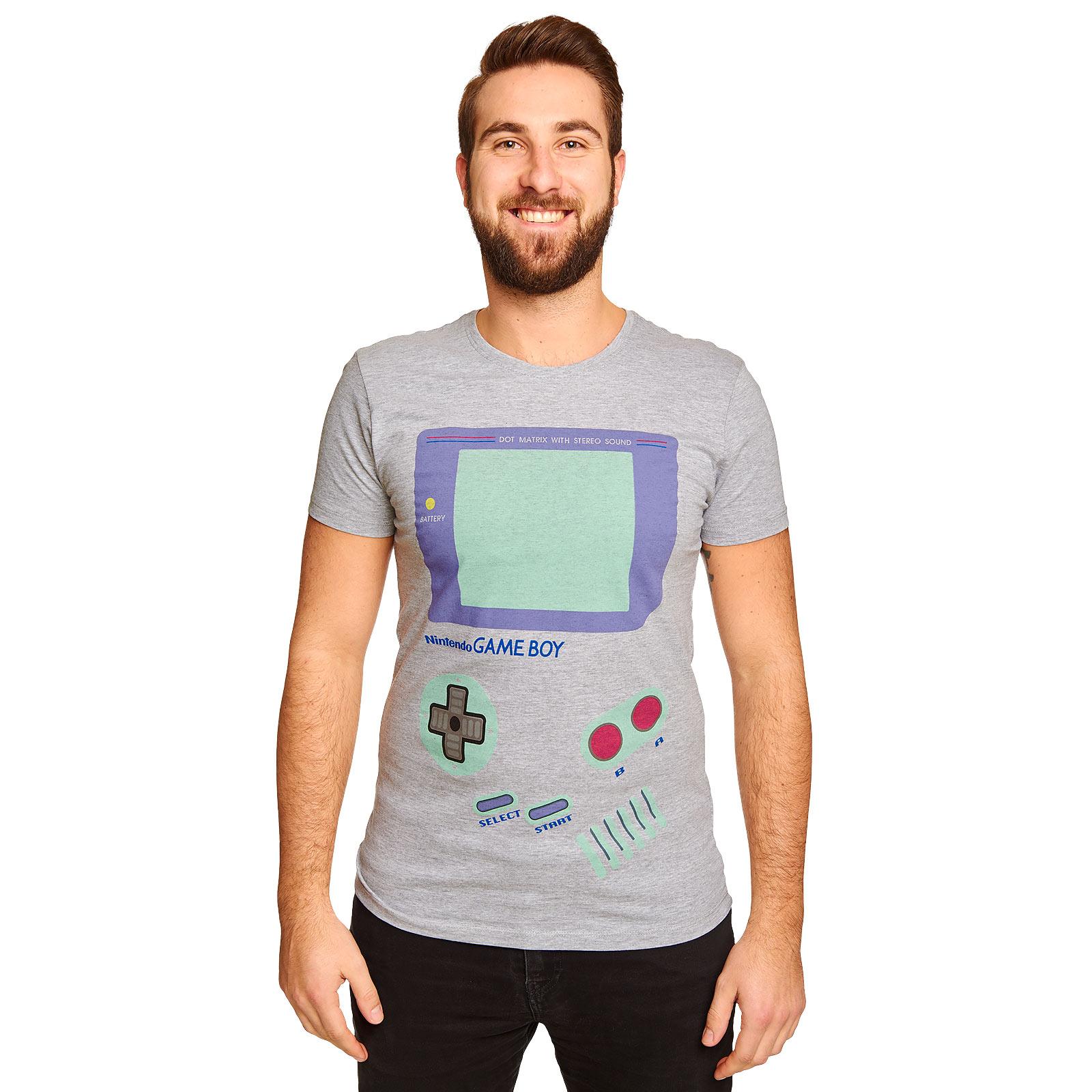 Nintendo - Game Boy T-Shirt grau