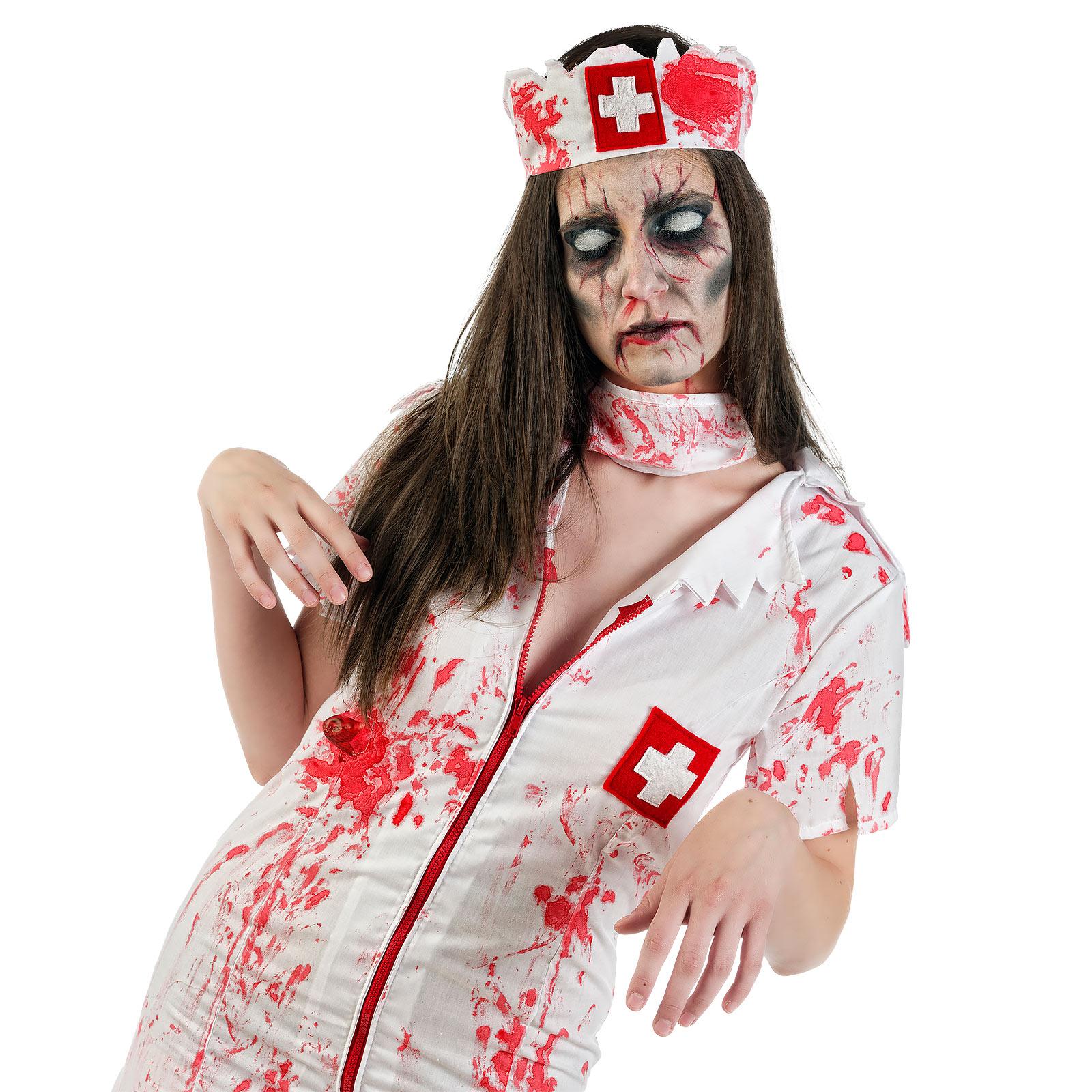 Zombie Krankenschwester Horror Kostüm