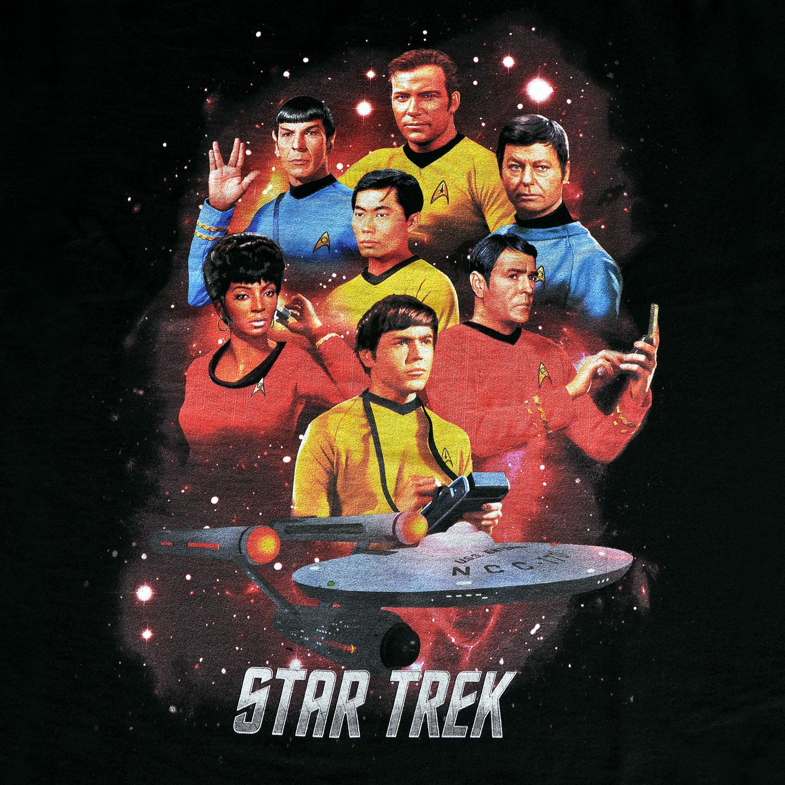 Star Trek - Enterprise Crew T-Shirt schwarz
