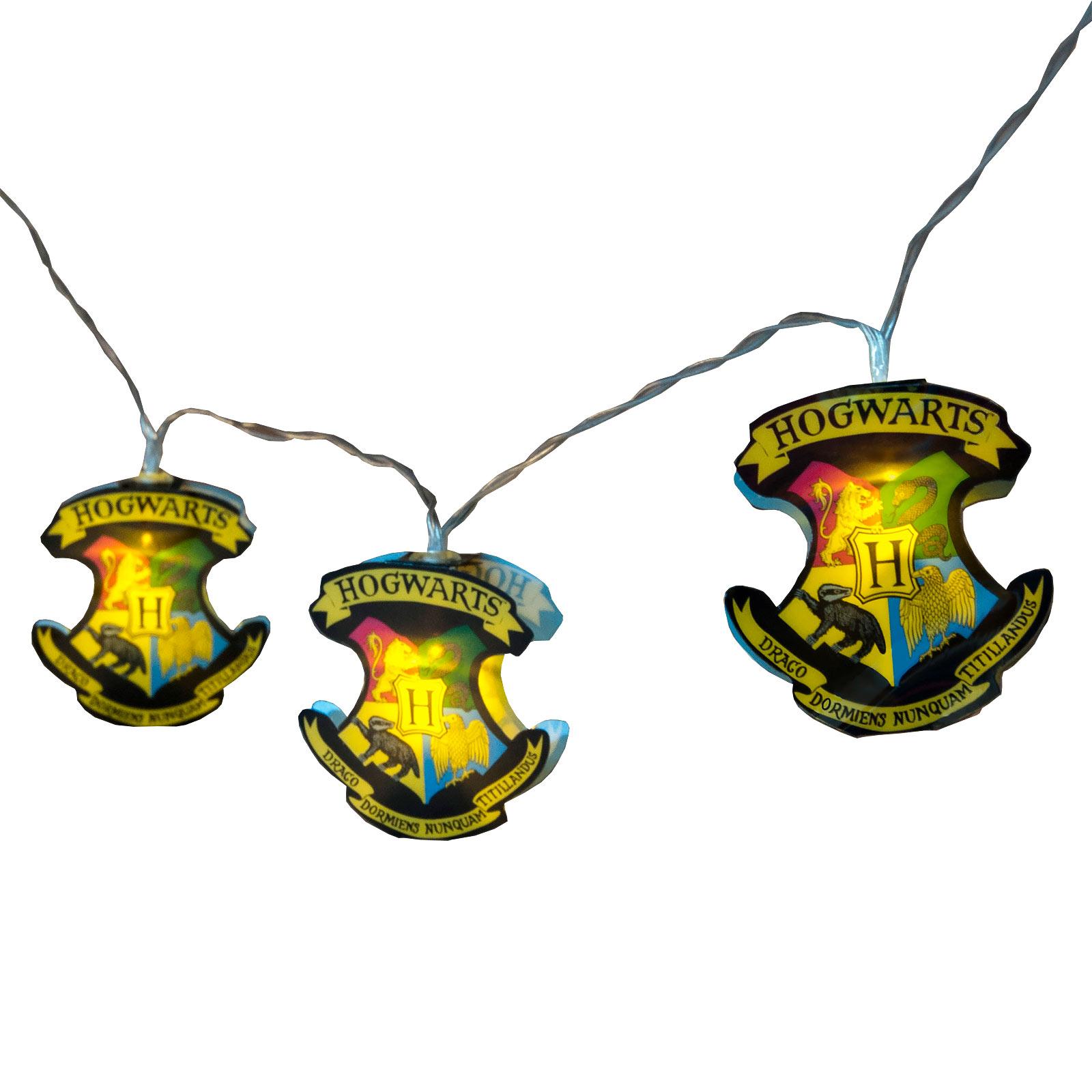 Harry Potter - Hogwarts Wappen Lichterkette