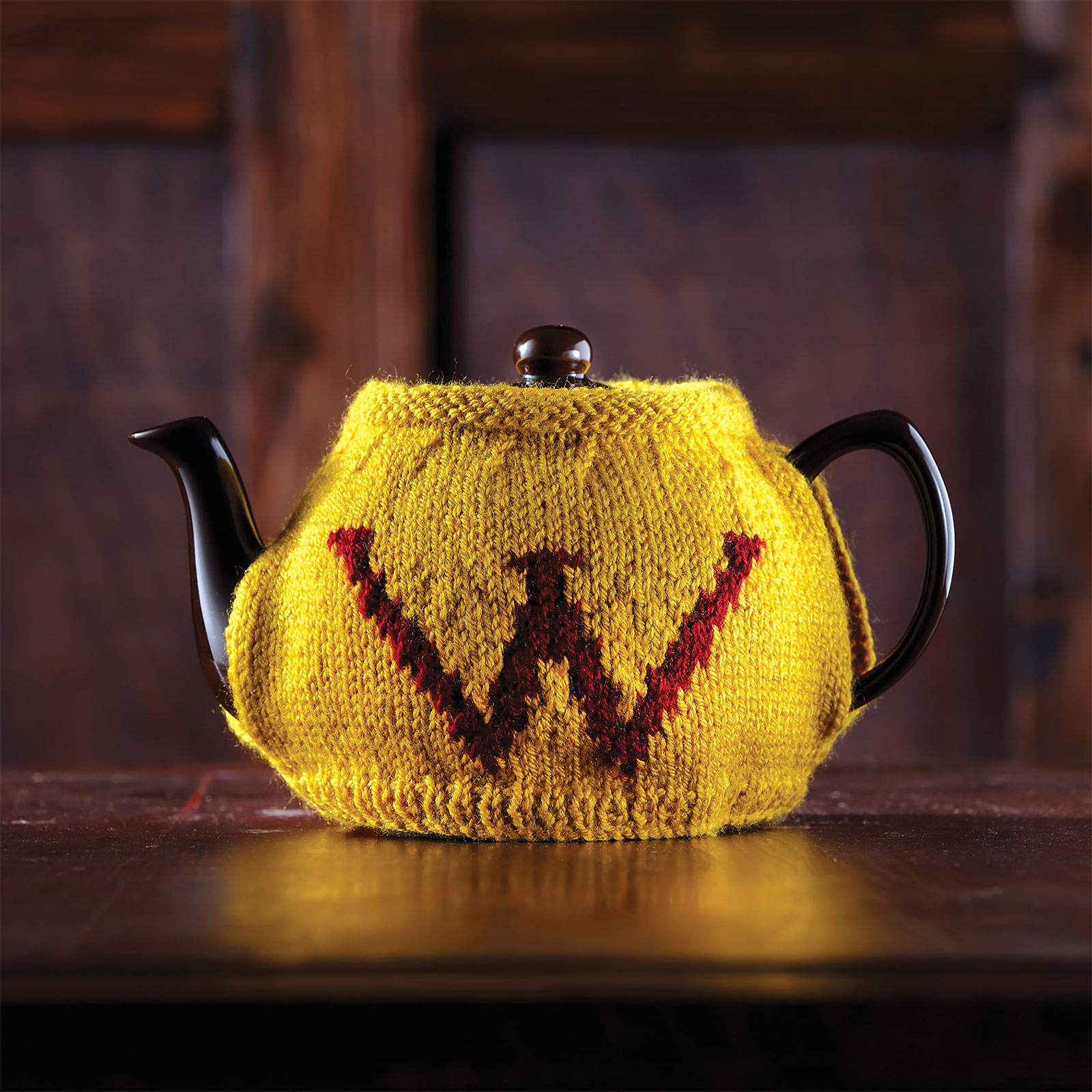 Harry Potter - Weasley Tee- & Eier-Wärmer Strick-Set
