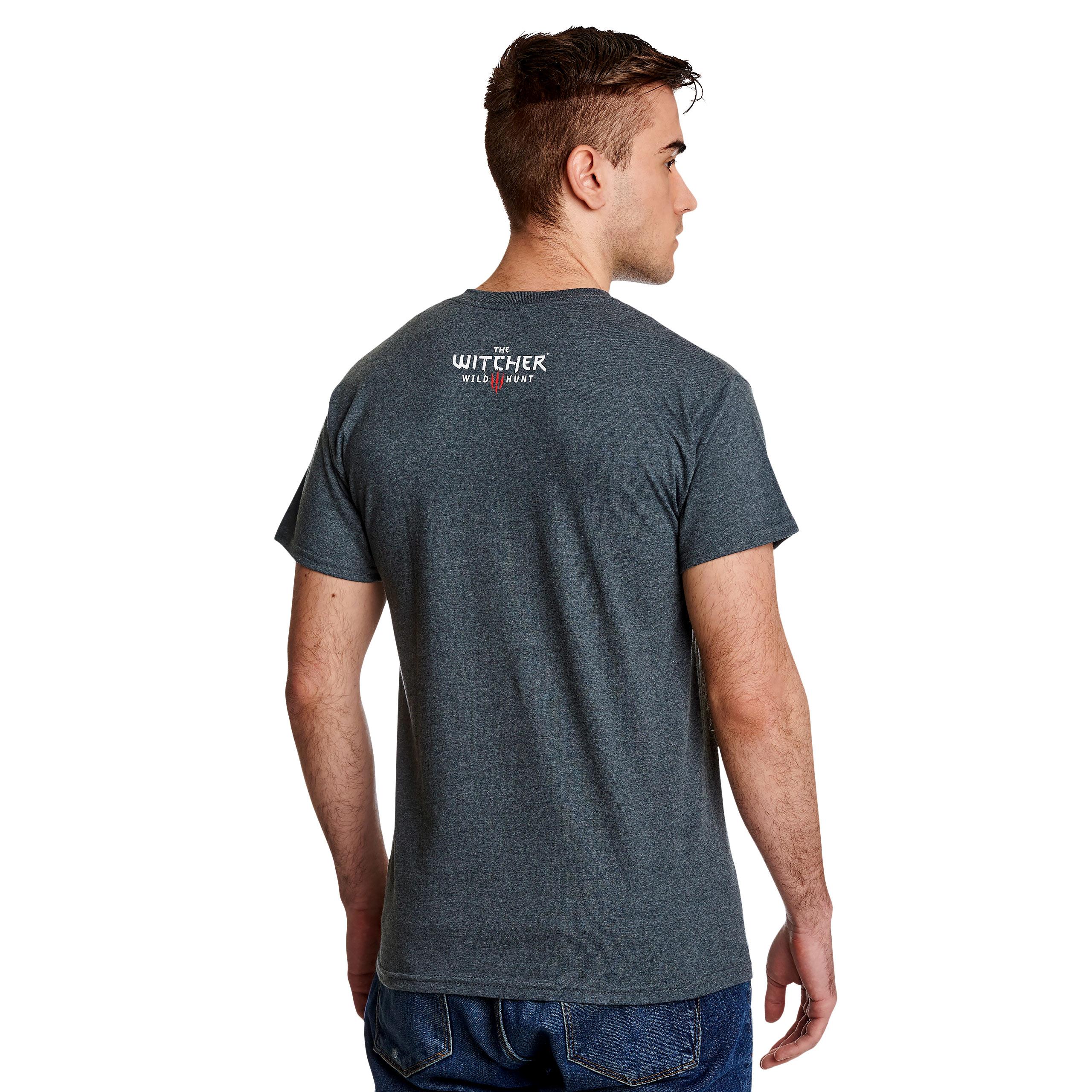 Witcher - Trophy Hunter T-Shirt grau