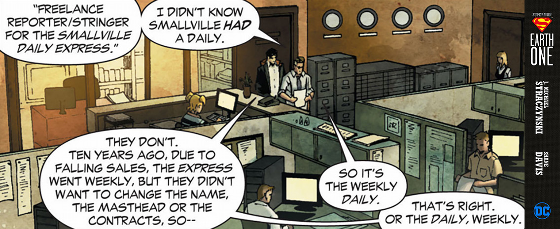 Daily Planet - Superman Earth One