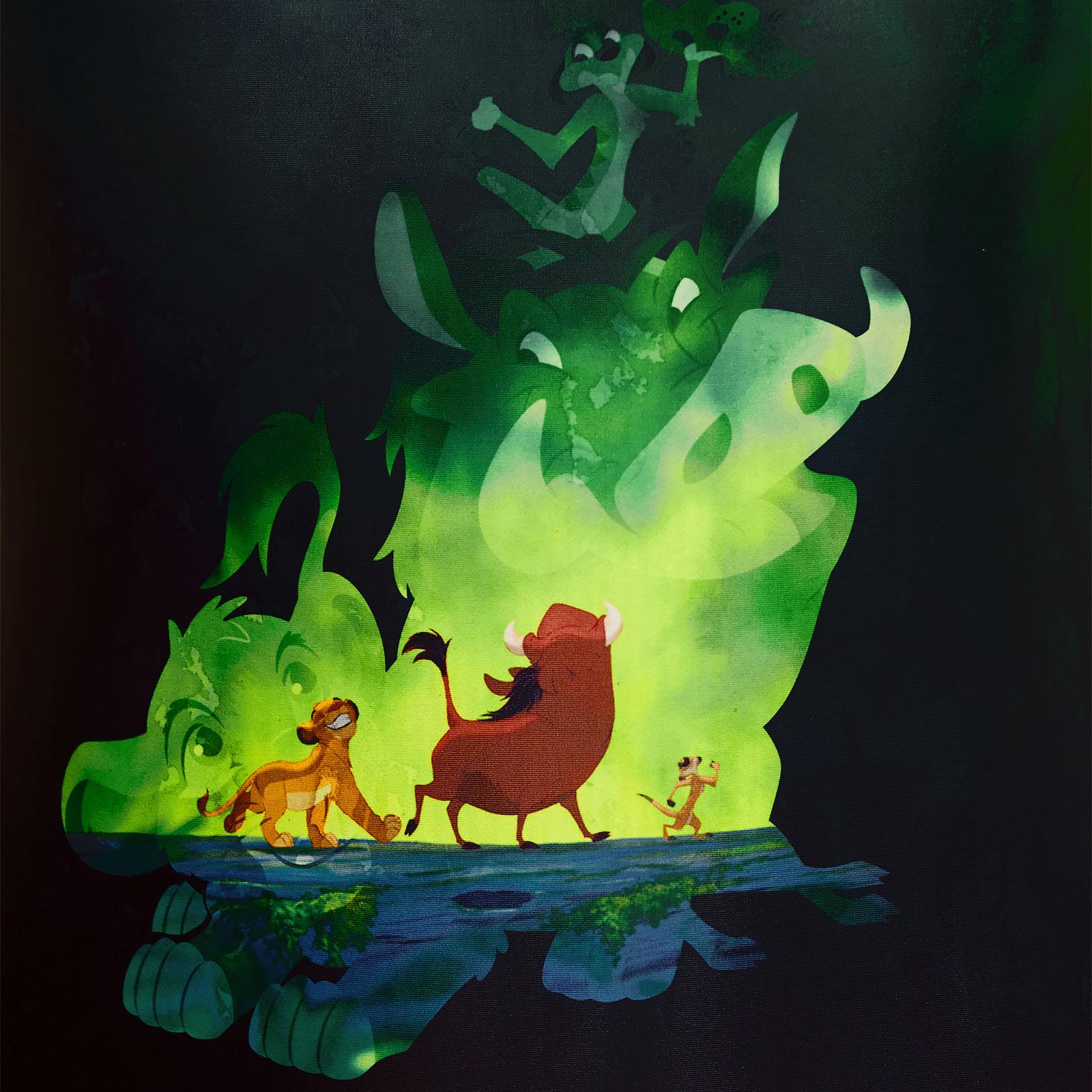 König der Löwen - Green Jungle Badeanzug